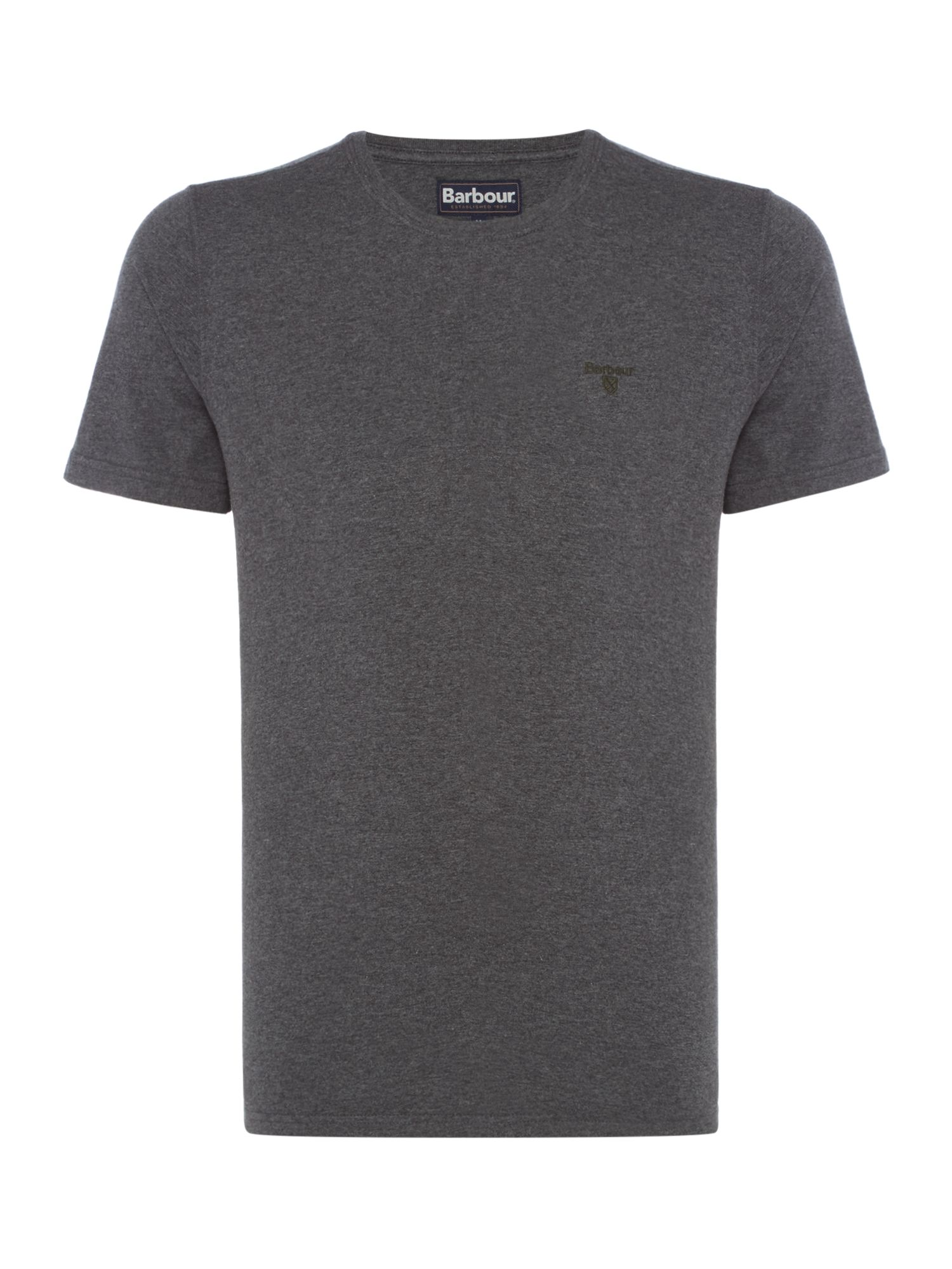 Men's Barbour Short sleeve sports tee, Slate