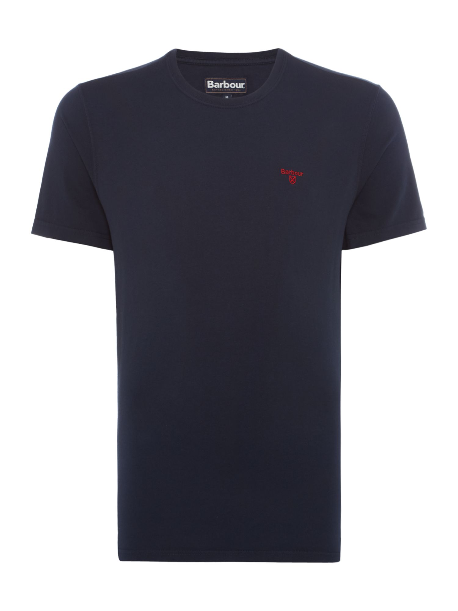 Men's Barbour Short sleeve sports tee, Blue