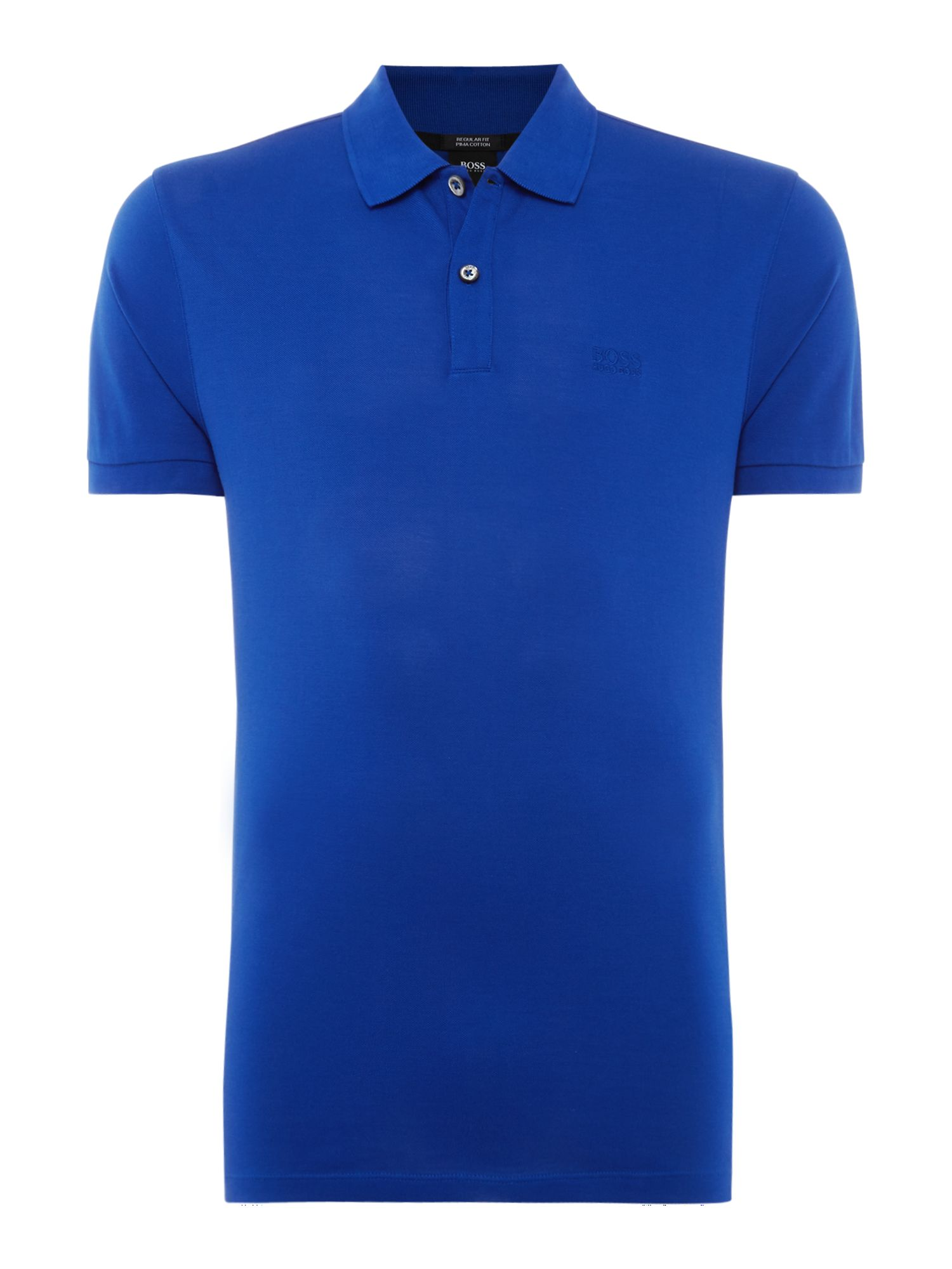 Men's Hugo Boss Pallas Regular Fit Short Sleeve Logo Polo, Cobalt