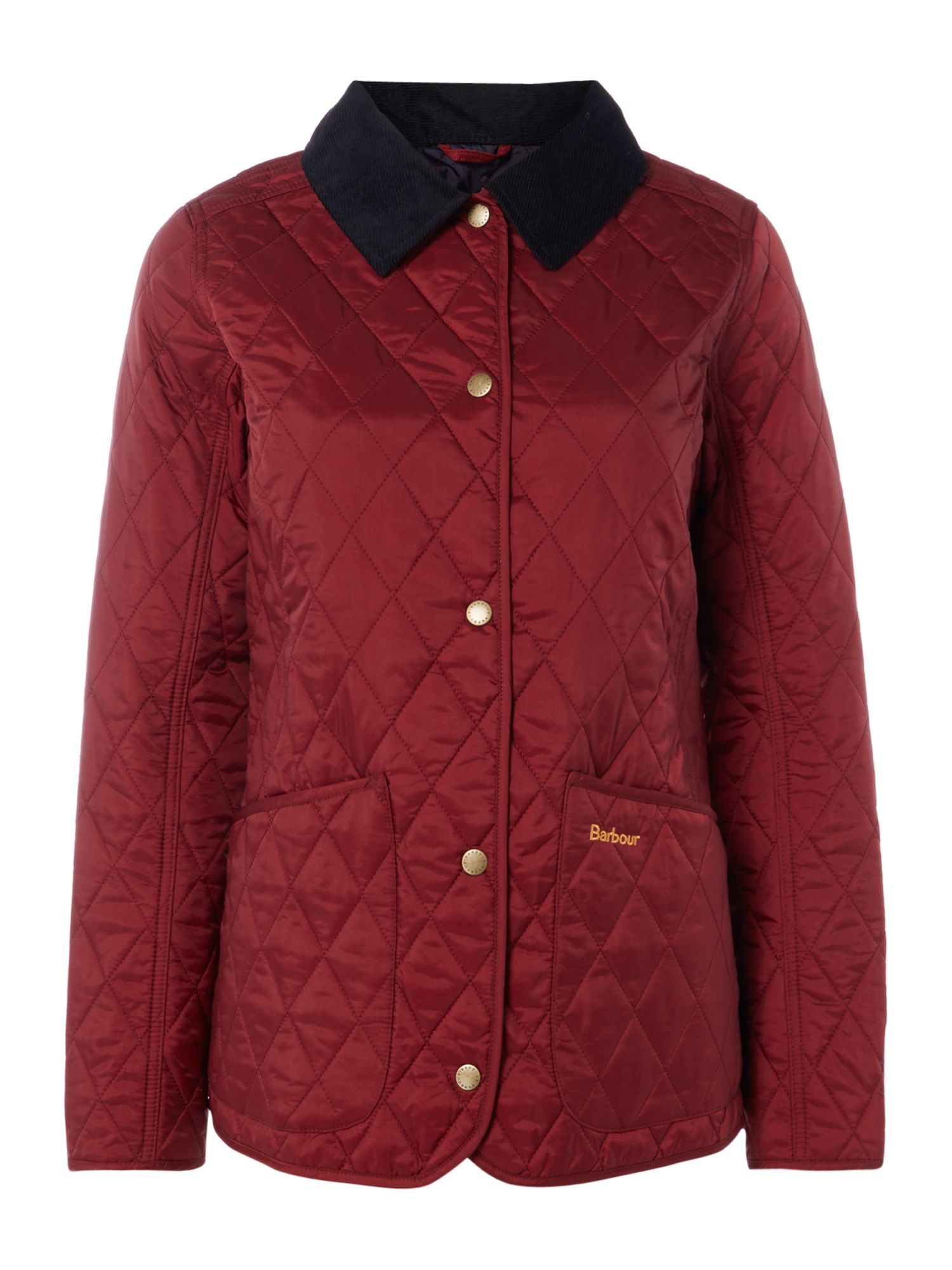 Barbour Exclusive Annandale Quilt Jacket, Wine