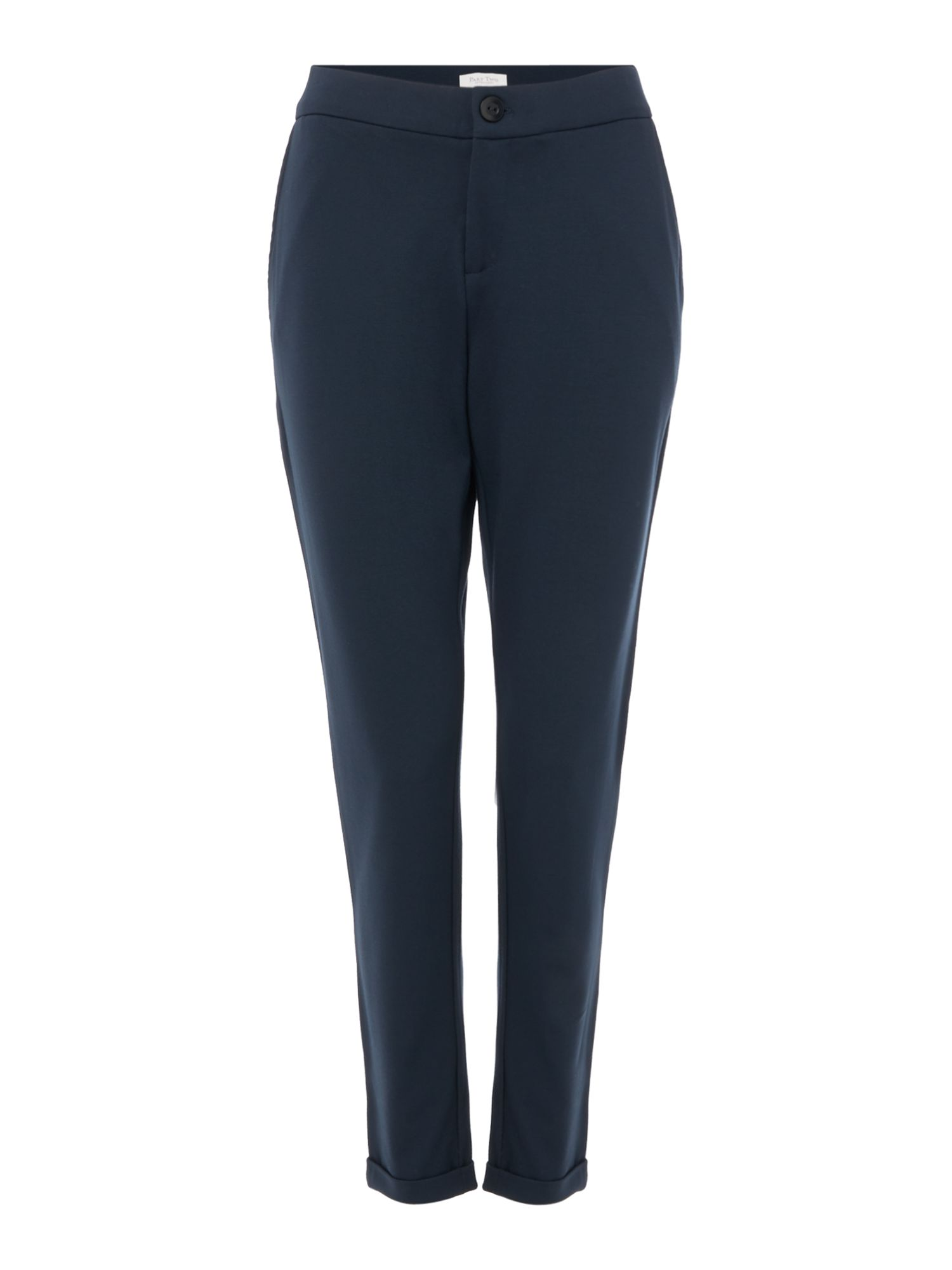 Part Two Mighty slim stretch trousers, Blue