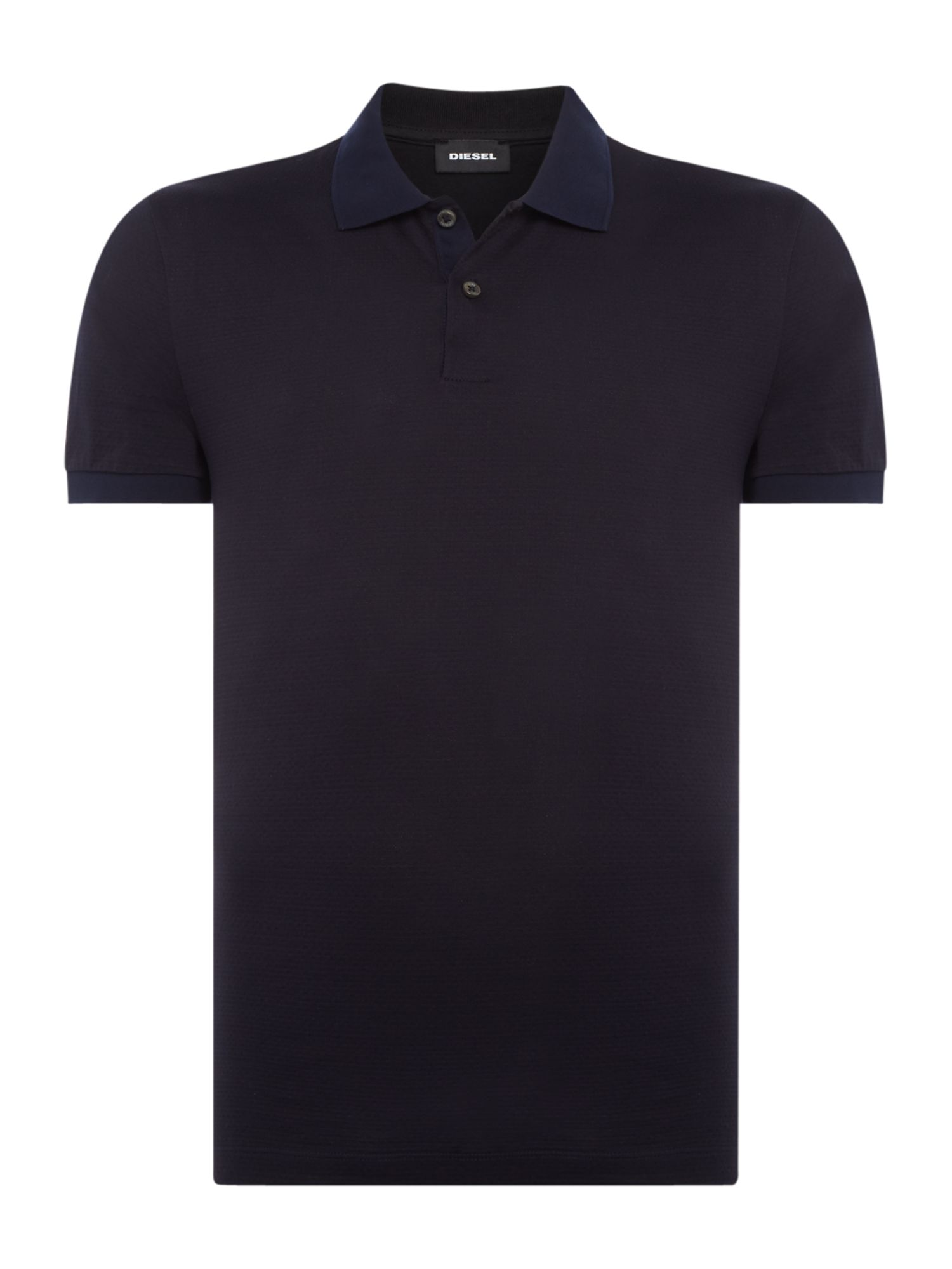 Men's Hugo Boss Phillipson 18 textured polo shirt, Blue