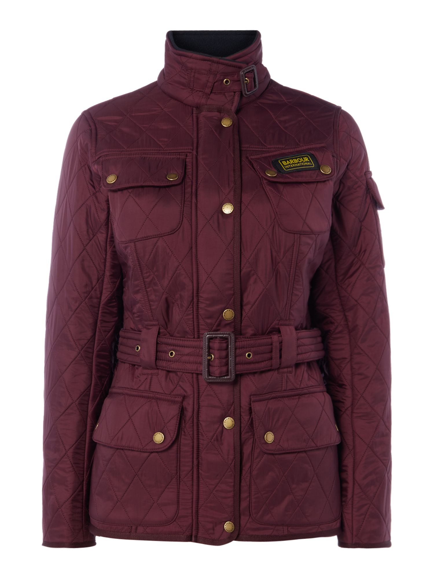 Barbour International Polarquilt Jacket, Wine