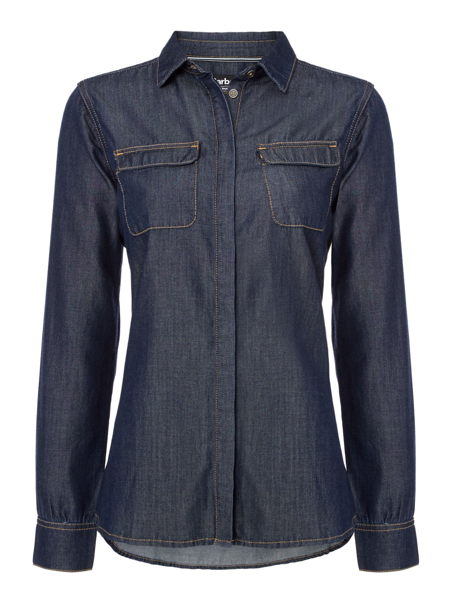 Barbour Mallory Denim Shirt, Chambray