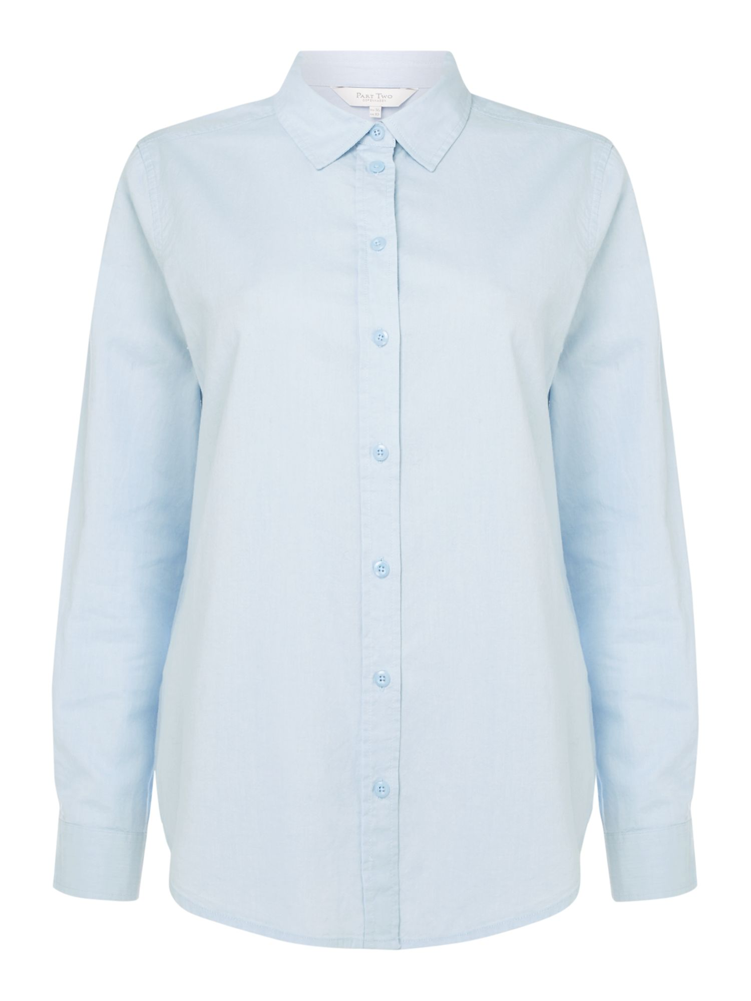 Part Two Chrissie oxford shirt, Sky