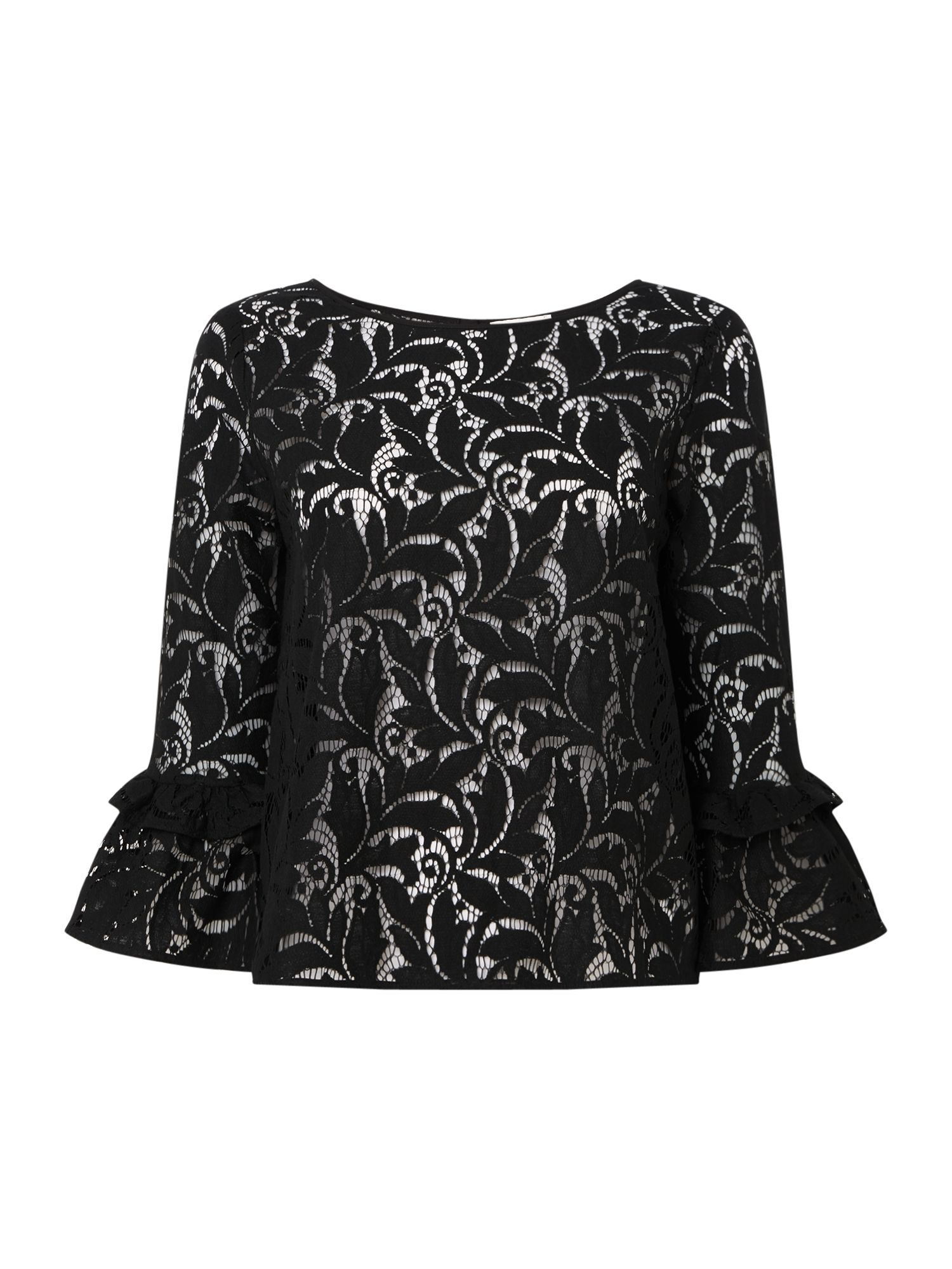 Part Two Jo lace blouse, Black