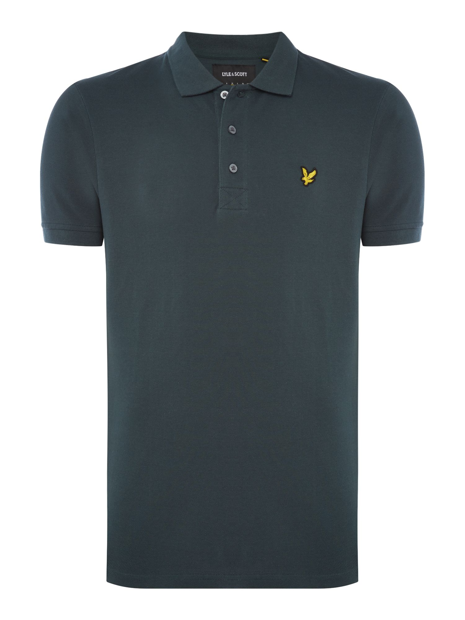 Men's Lyle and Scott Short Sleeve Classic Polo, Green
