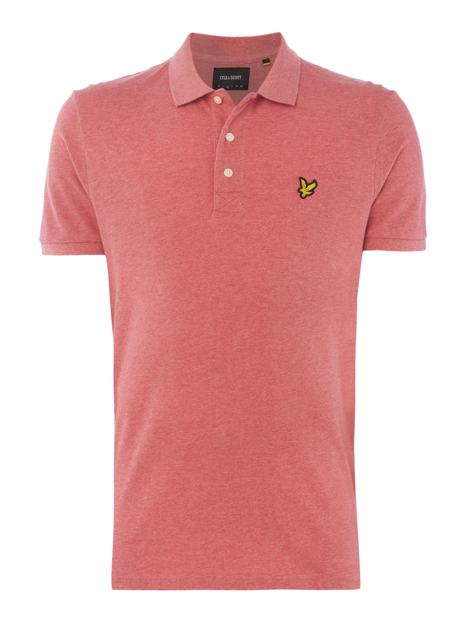 Men's Lyle and Scott Short Sleeve Classic Polo, Crimson