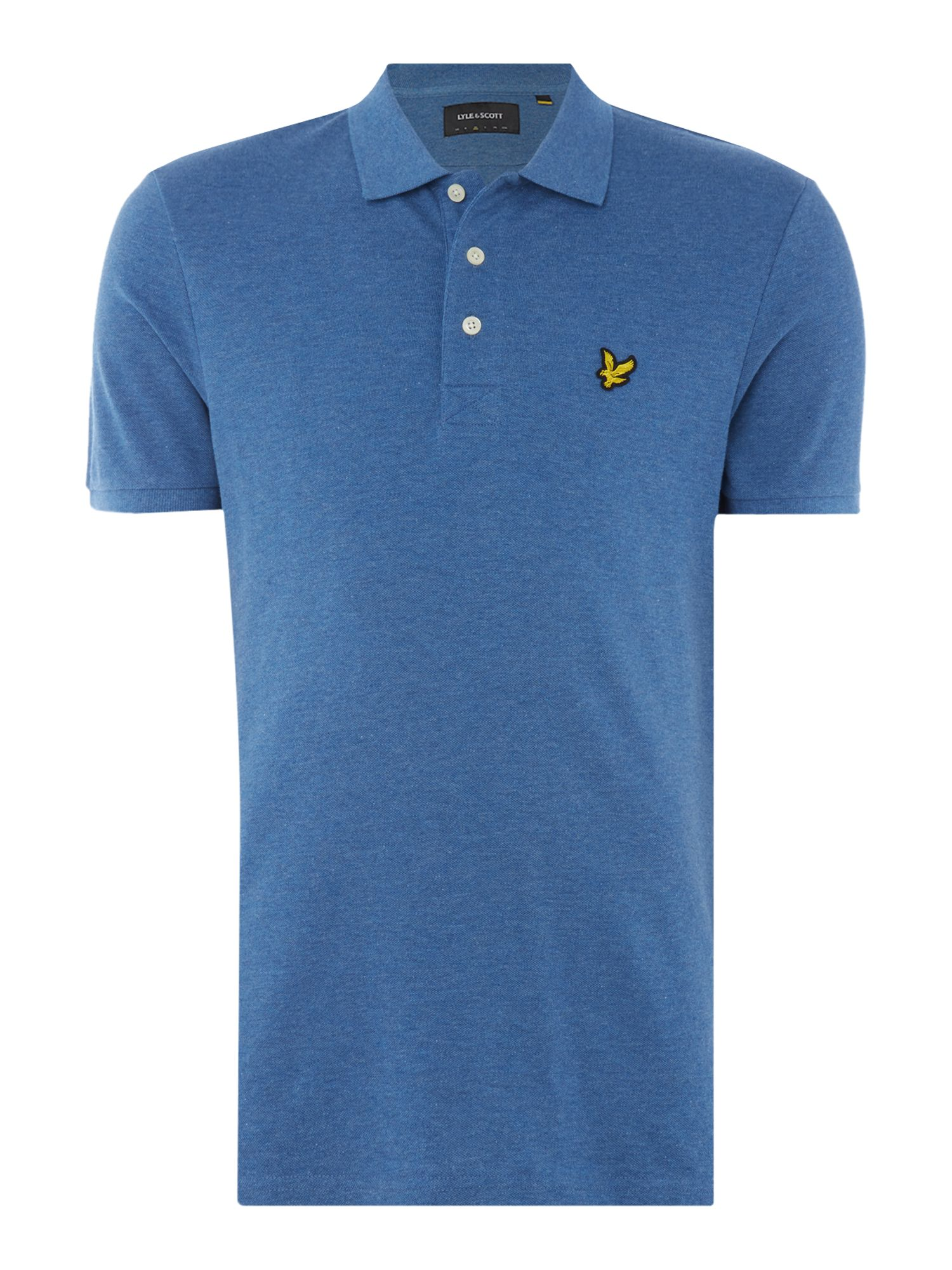 Men's Lyle and Scott Short Sleeve Classic Polo, Storm