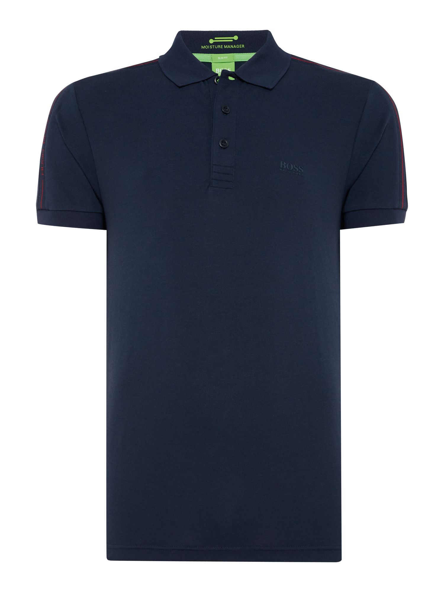 Men's Hugo Boss Paulie slim fit polo, Blue