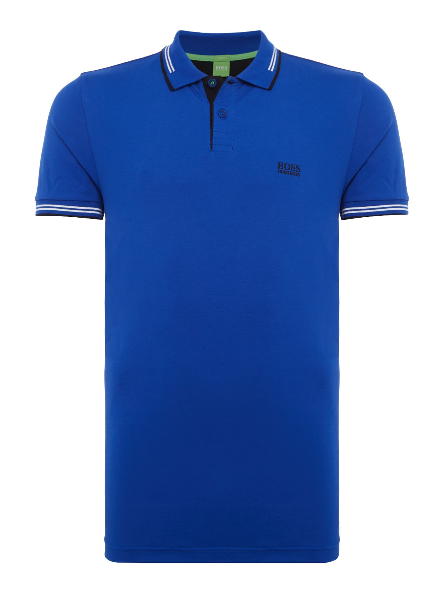Men's Hugo Boss Paul Short Sleeve Slim Fit Polo Shirt, Blue
