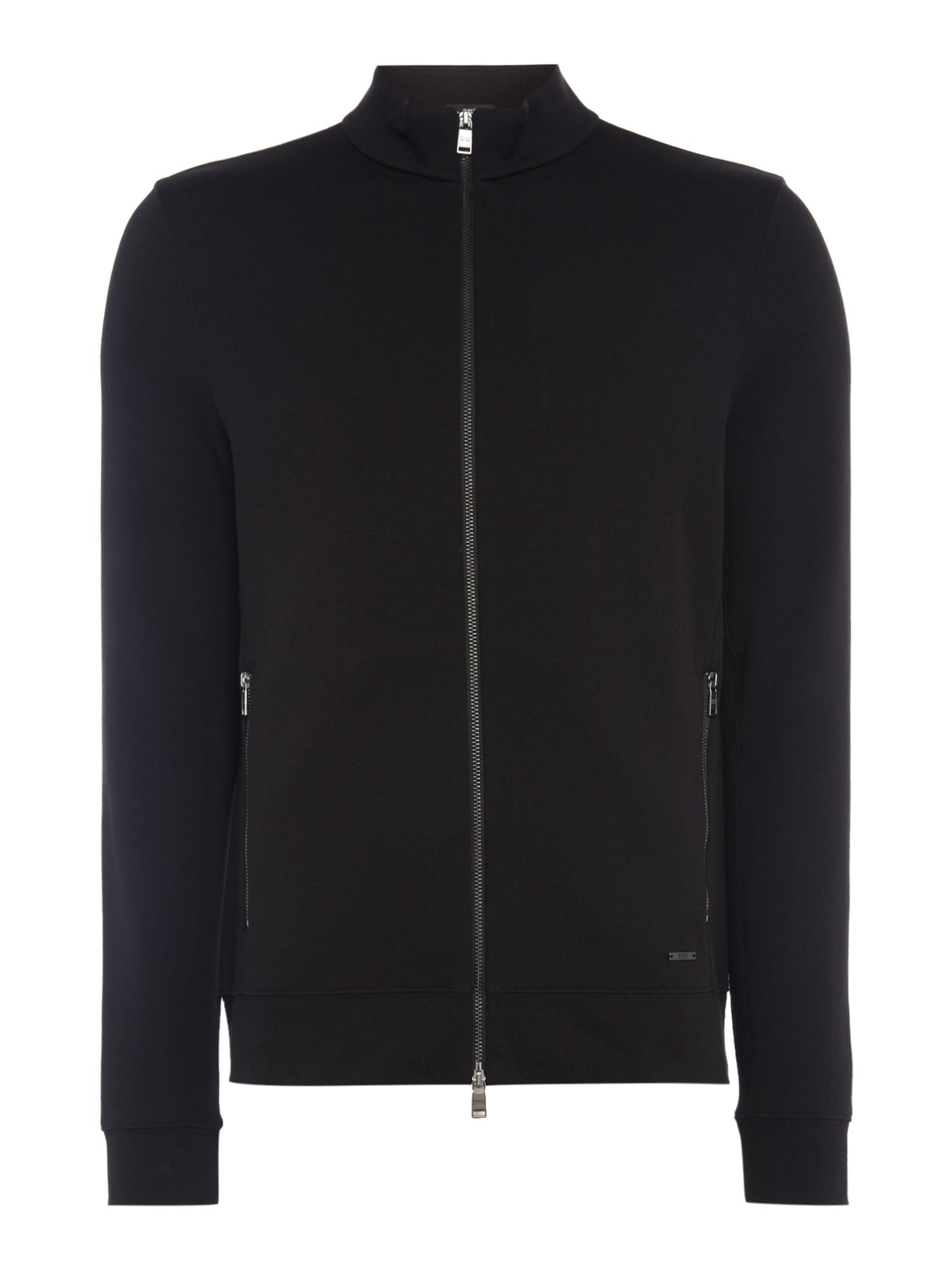 Men's Hugo Boss Soule 08 zip up sweatshirt, Black