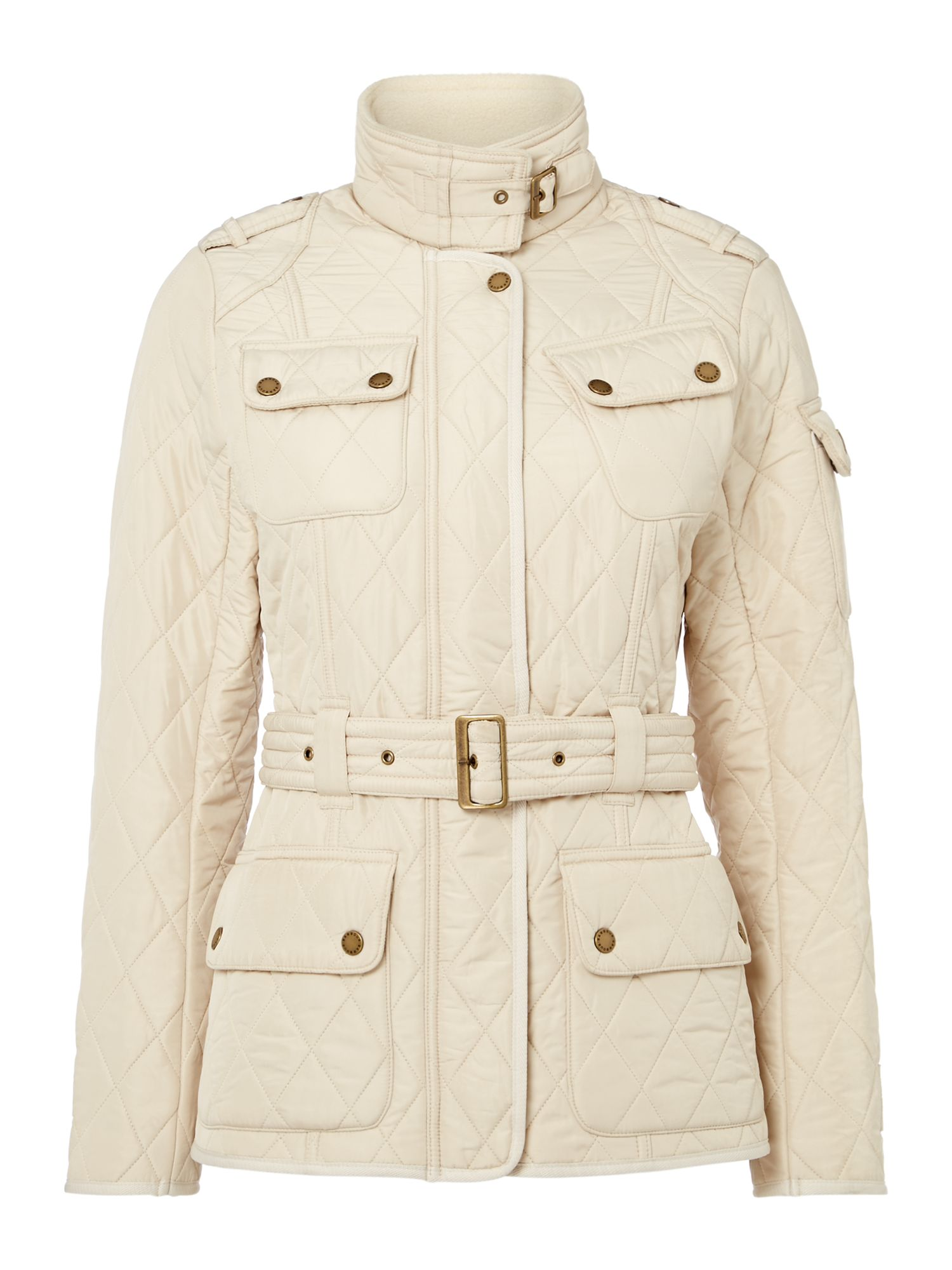 Barbour International Polarquilt Jacket, Mother Of White