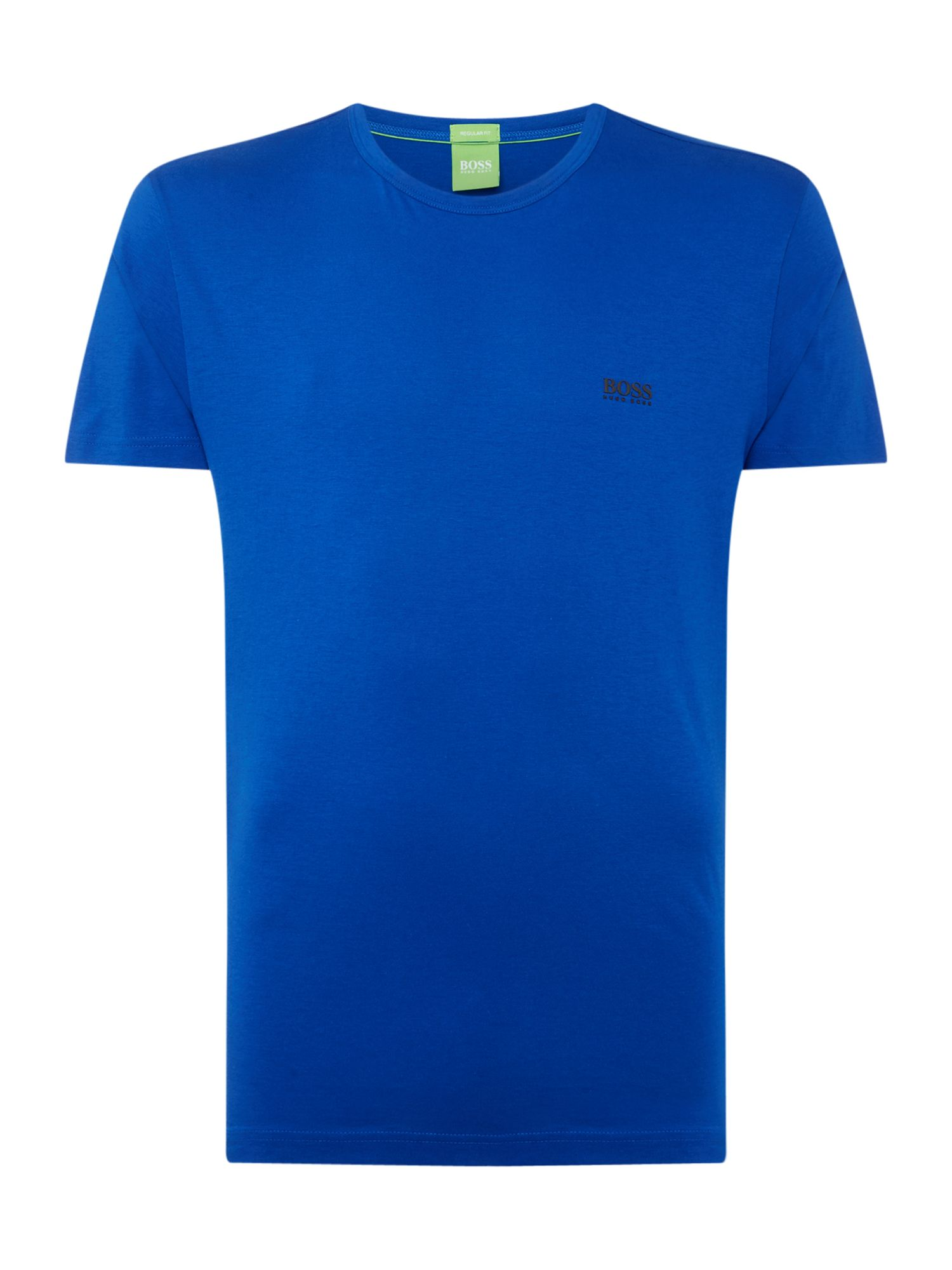 Men's Hugo Boss Basic logo crew neck tee, Blue