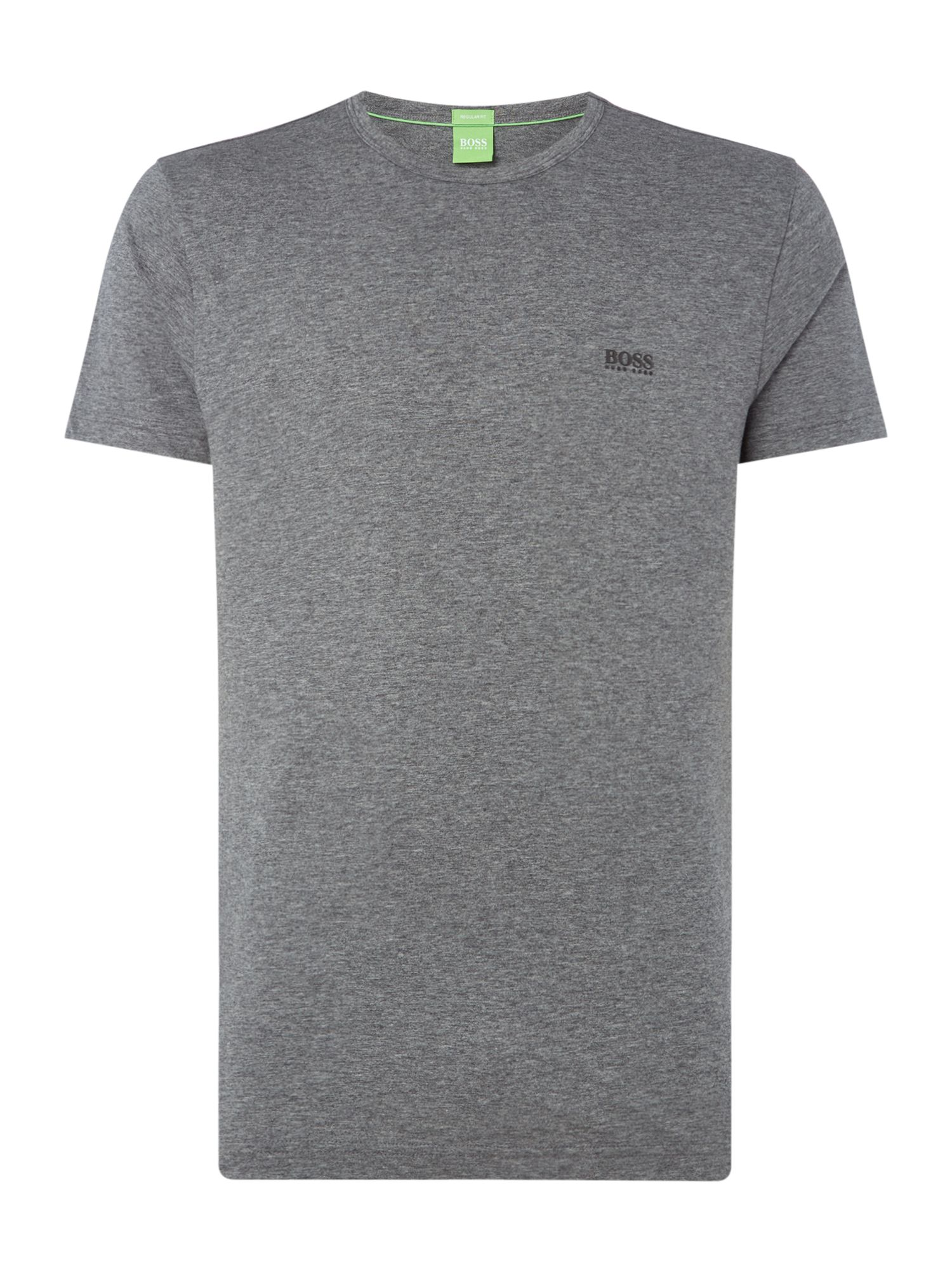 Men's Hugo Boss Basic logo crew neck tee, Grey Marl