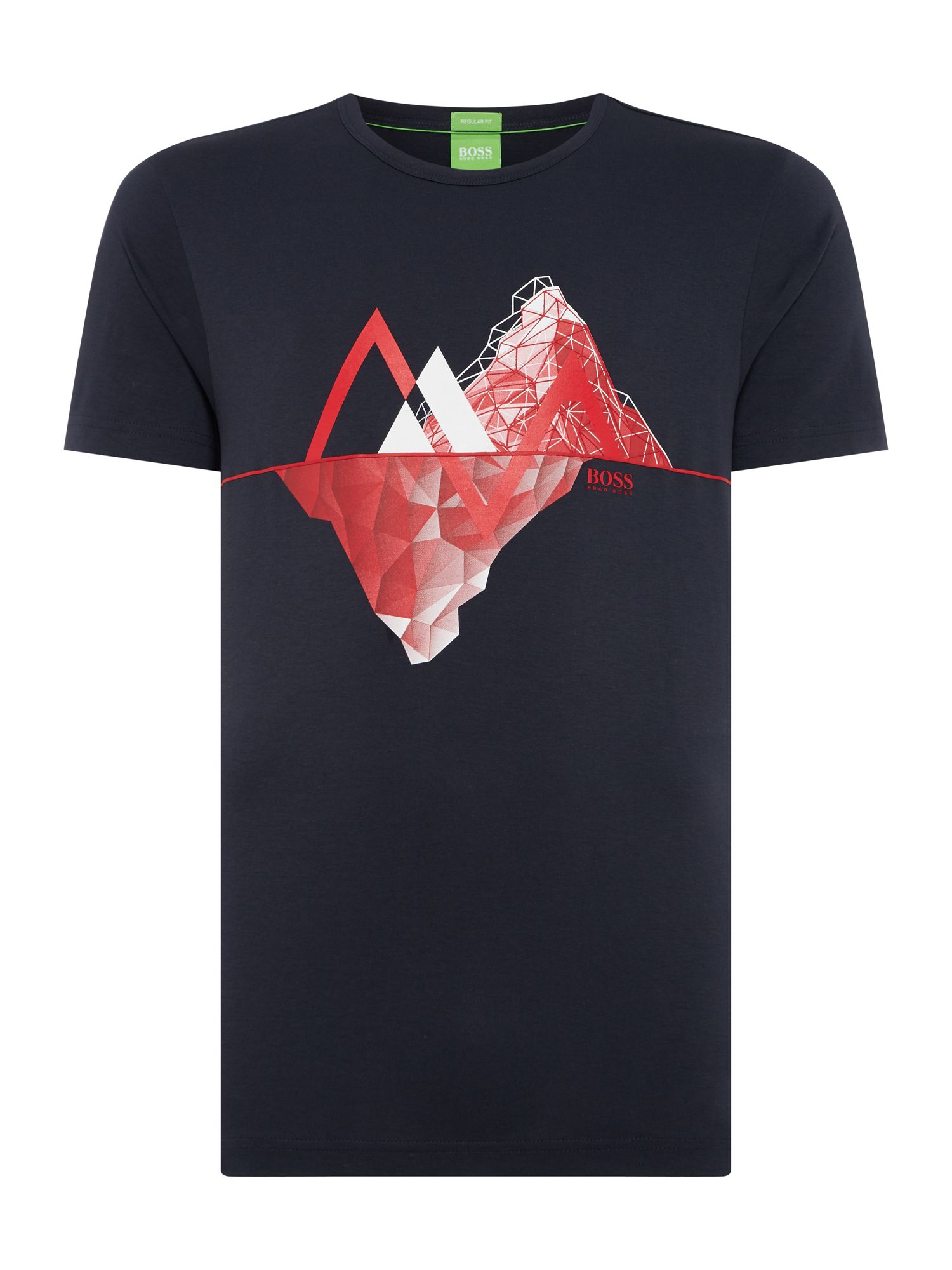 Men's Hugo Boss Mountin graphic tee 5, Blue