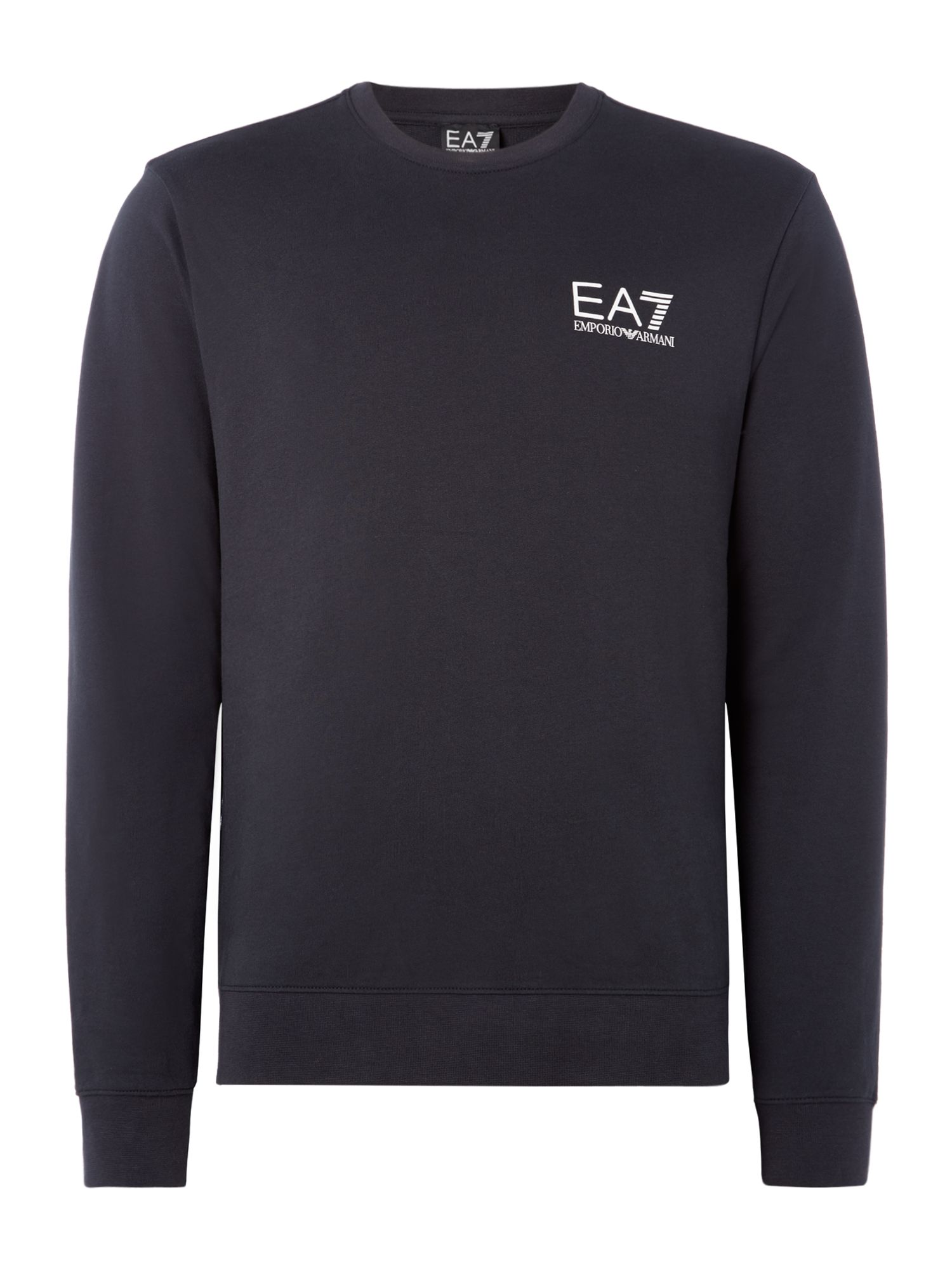 Men's EA7 Core ID crew neck, Blue