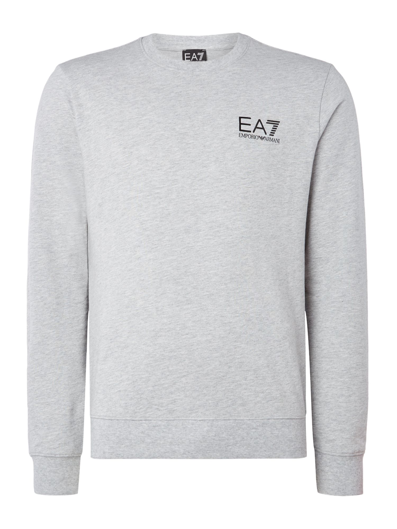 Men's EA7 Core ID crew neck, Grey