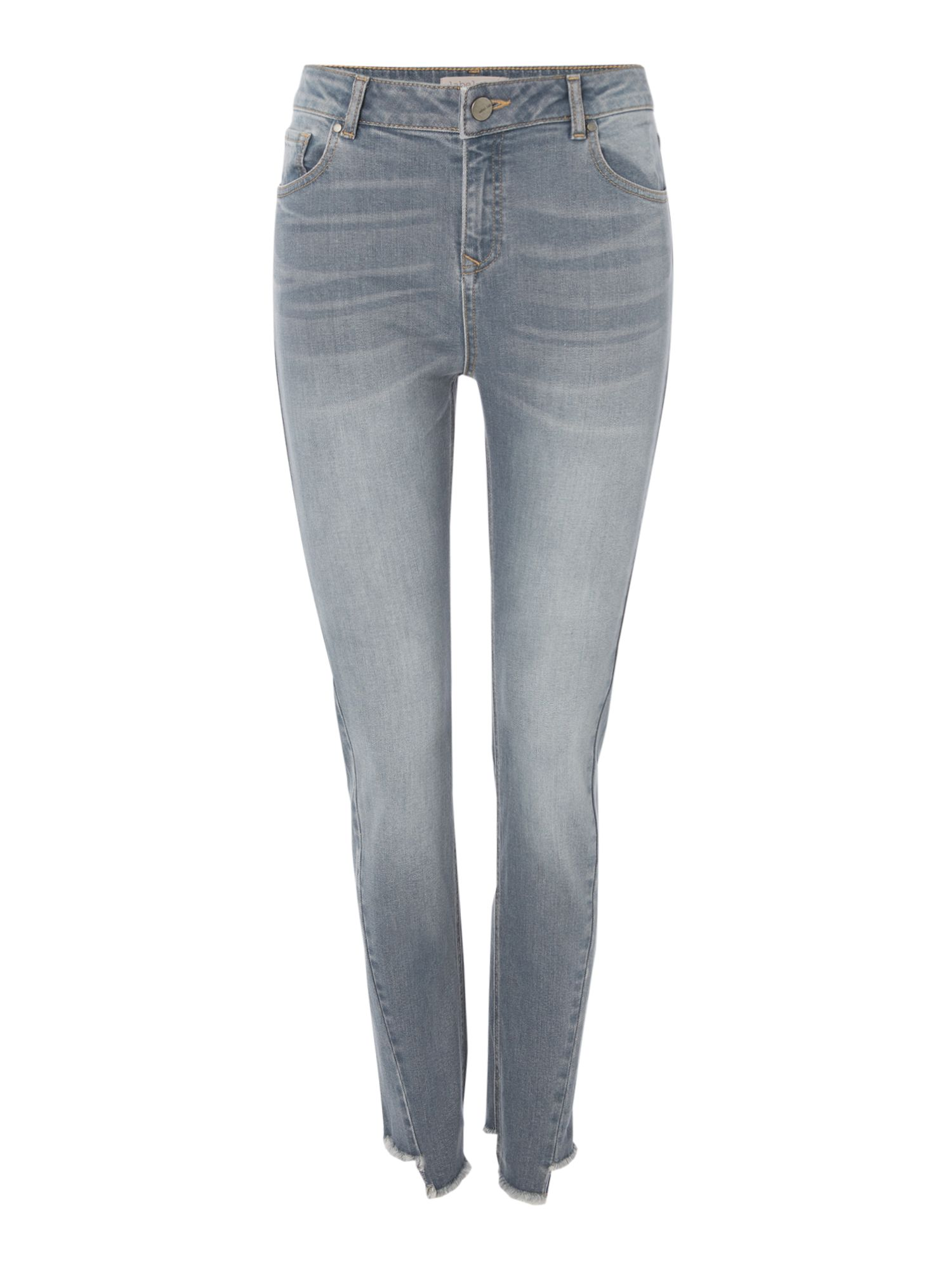 Label Lab Stepped Skinny Jean, Grey