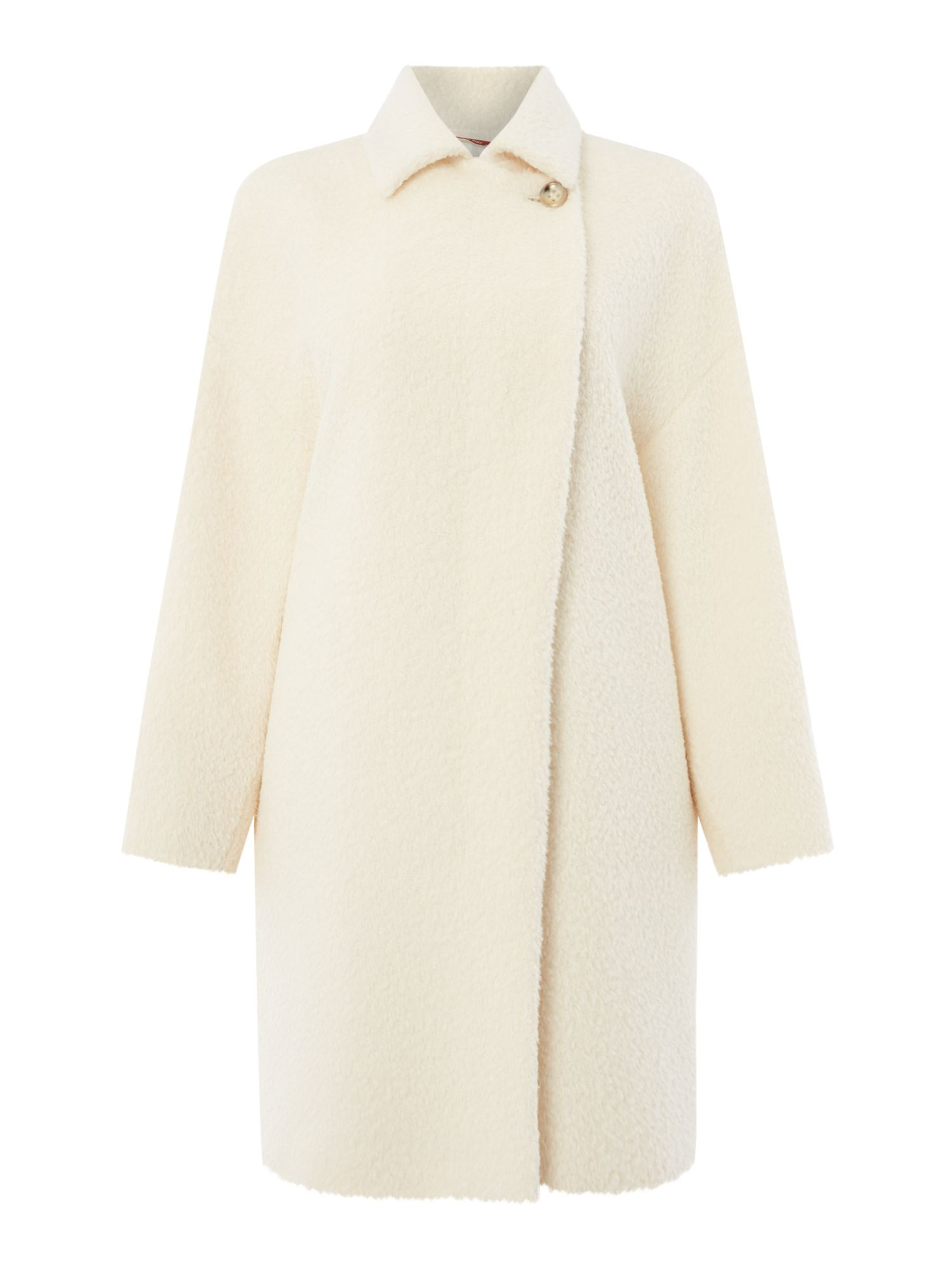 Max Mara Studio Sonia alpaca wool coat, Milk