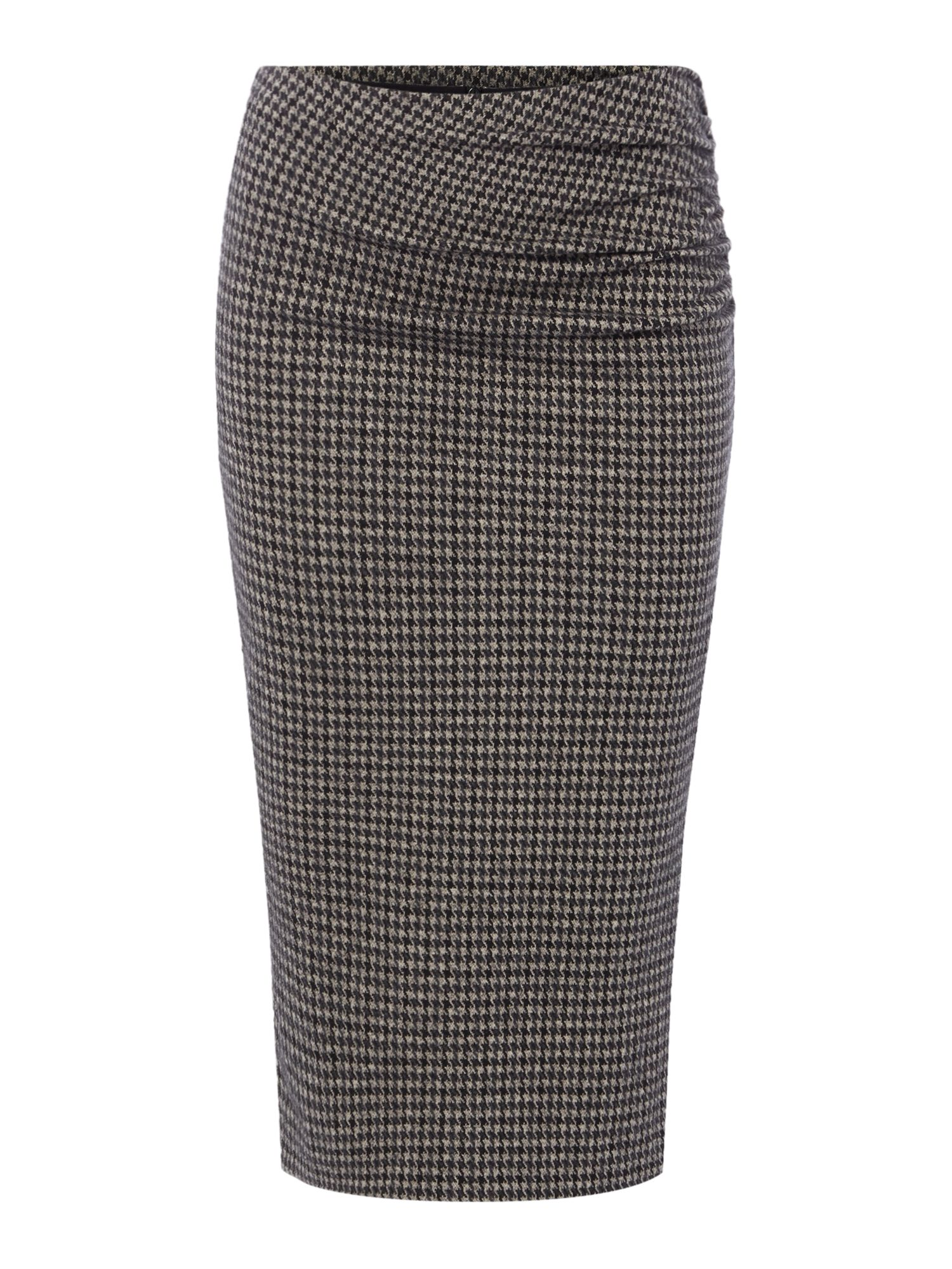Max Mara Weekend Mogano tweed stretch skirt, Black