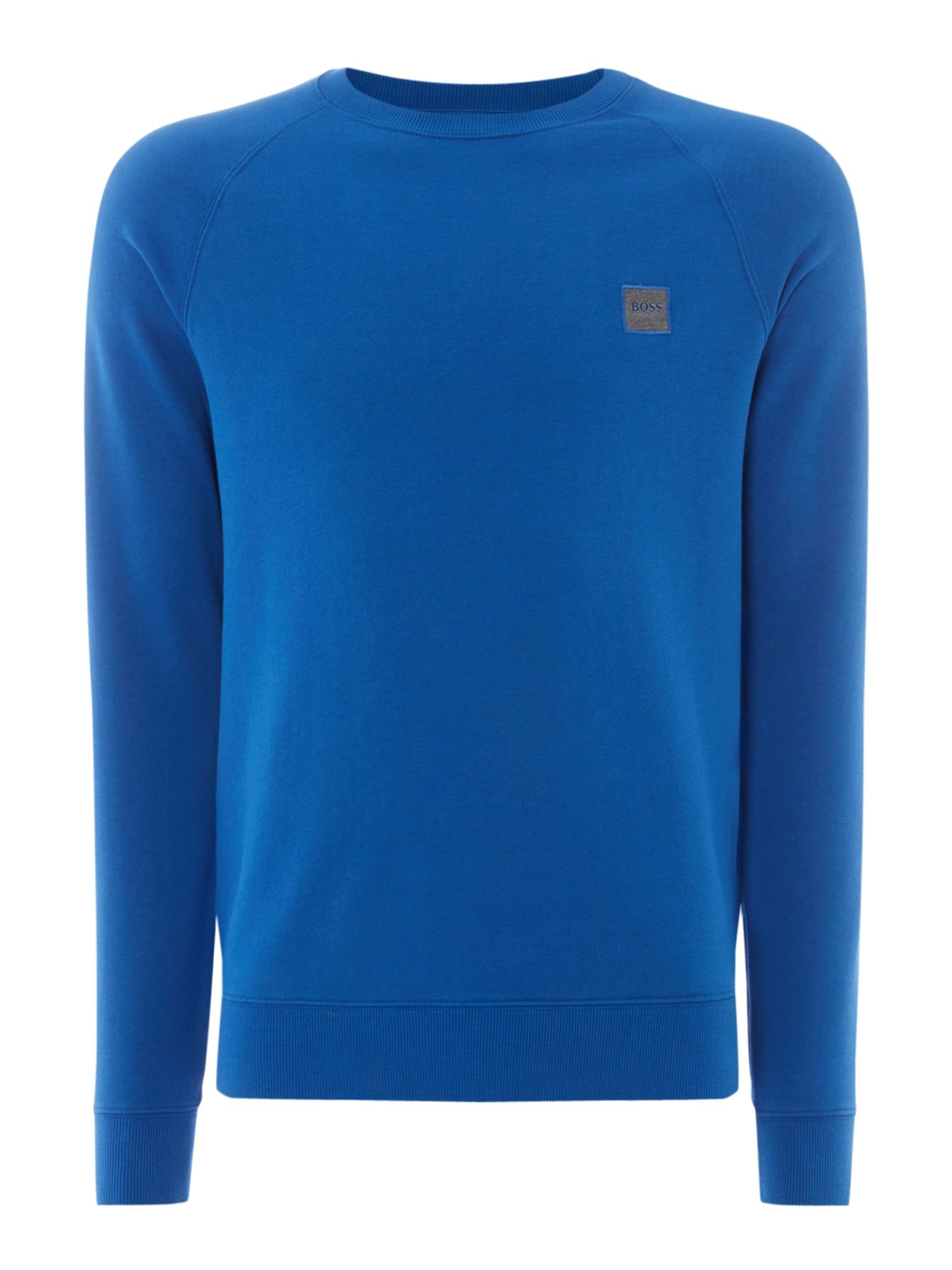Men's Hugo Boss Wheel UK crew neck sweatshirt, Blue