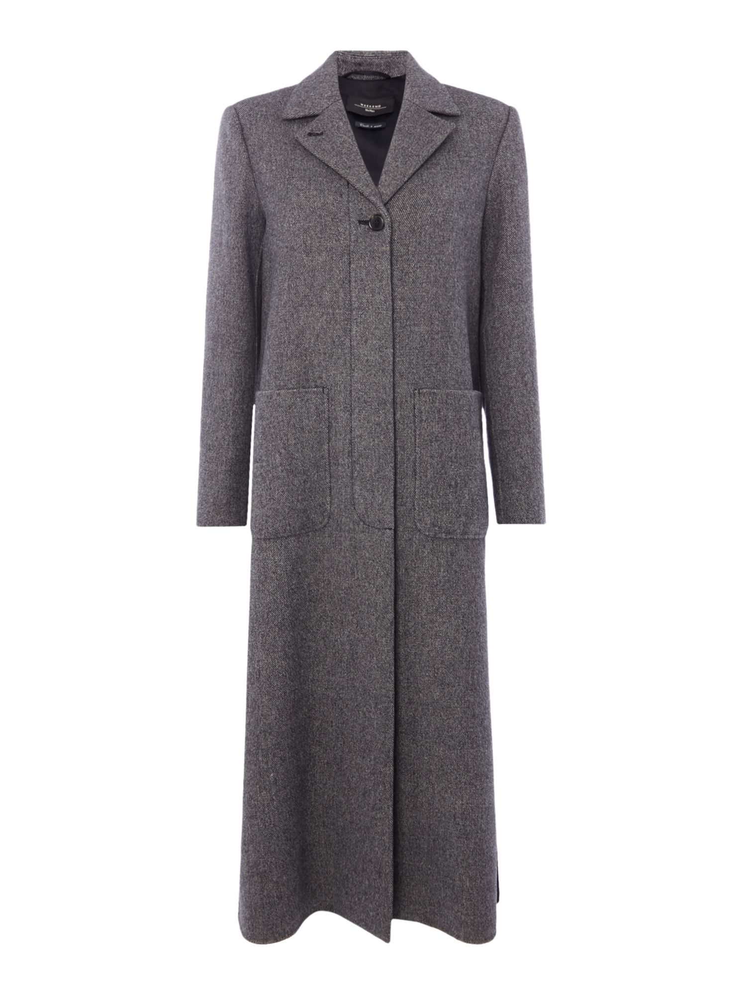 Max Mara Weekend Ausonia long wool coat, Black