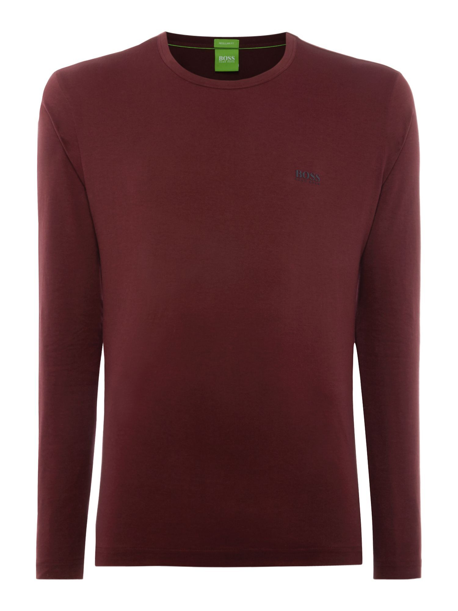 Men's Hugo Boss Togn Regular Fit Long sleeve T-Shirt, Red