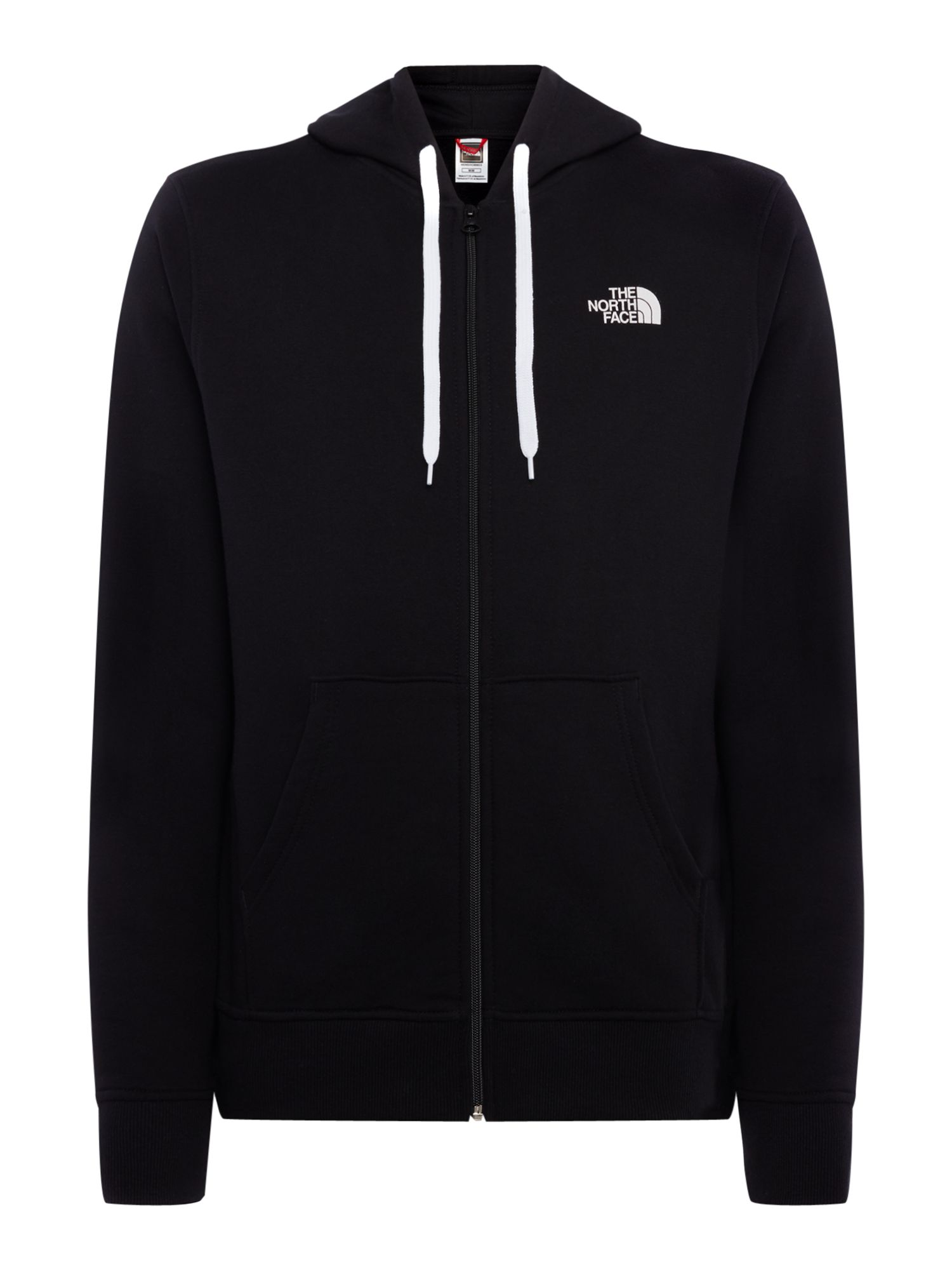 Men's The North Face Open Gate Full Zip Hoodie, Black
