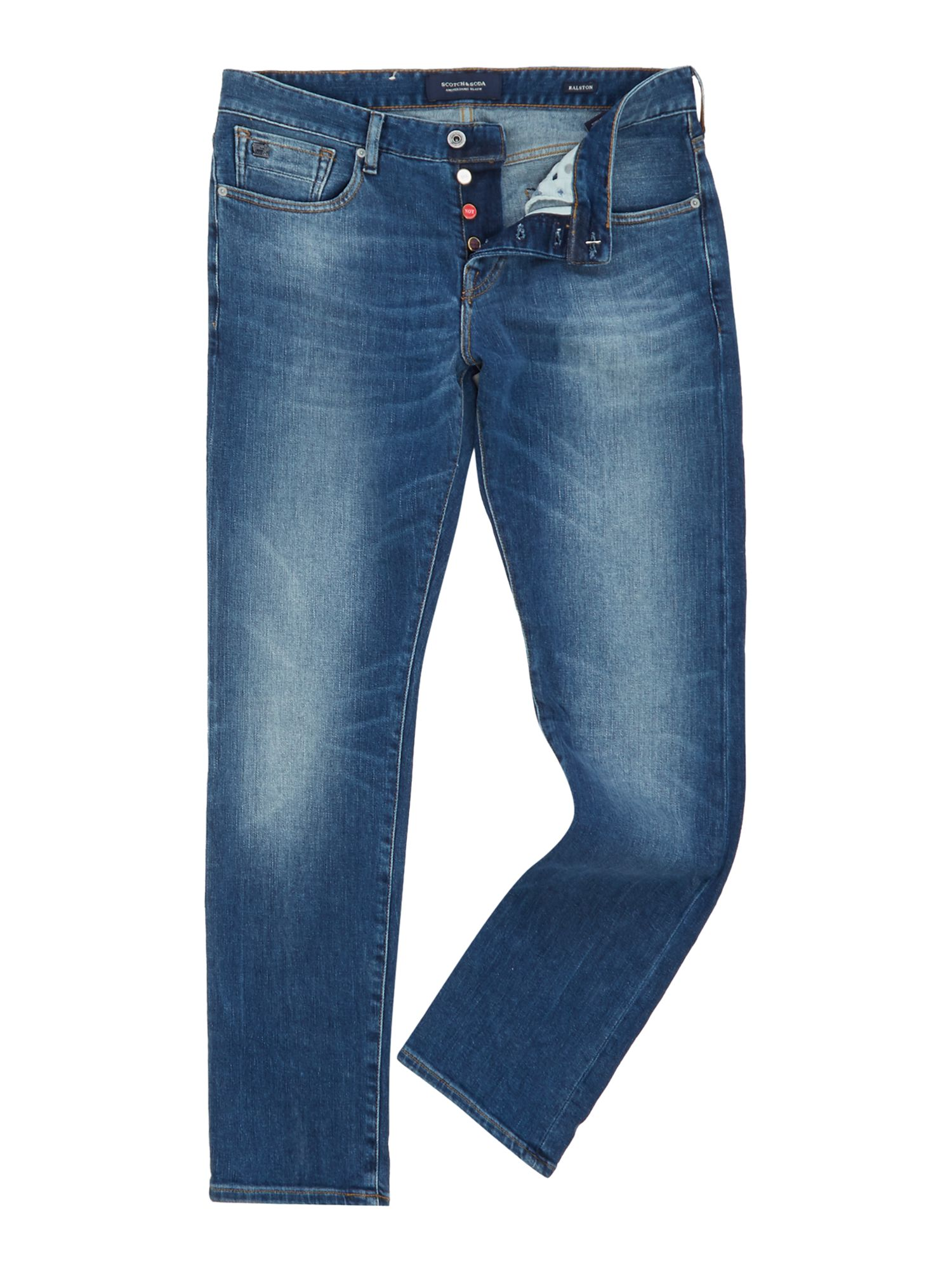 Mens Ralston Jeans  Laundry Service, Blue Wash