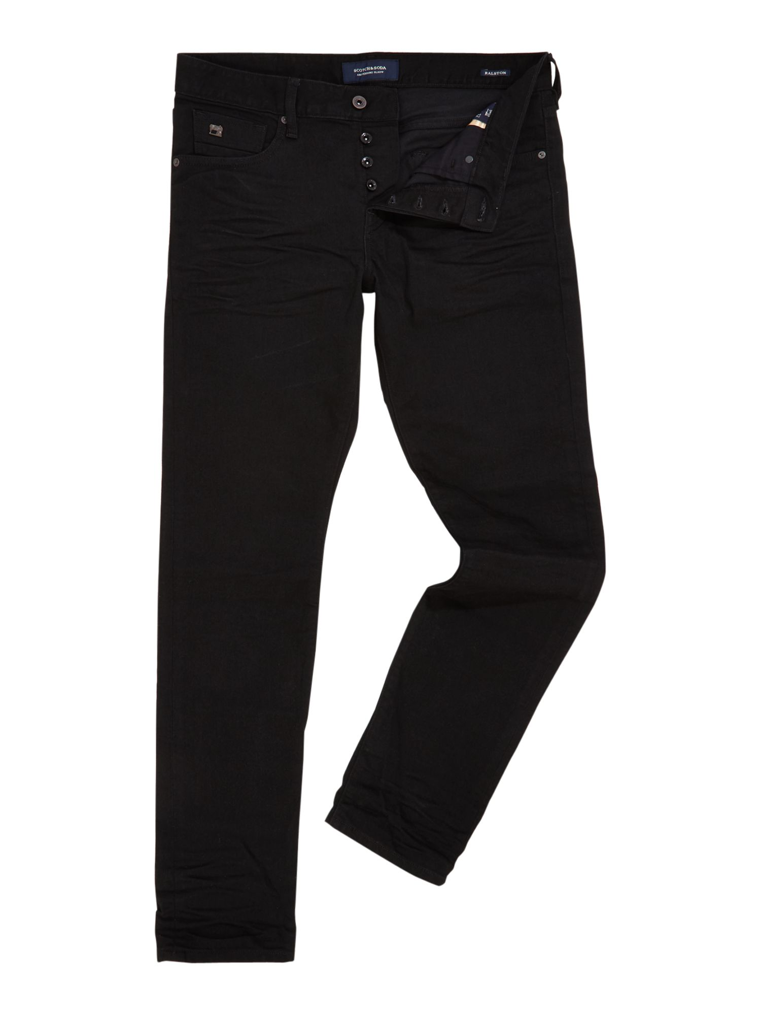 Mens Ralston Jeans  Stay Black, Black