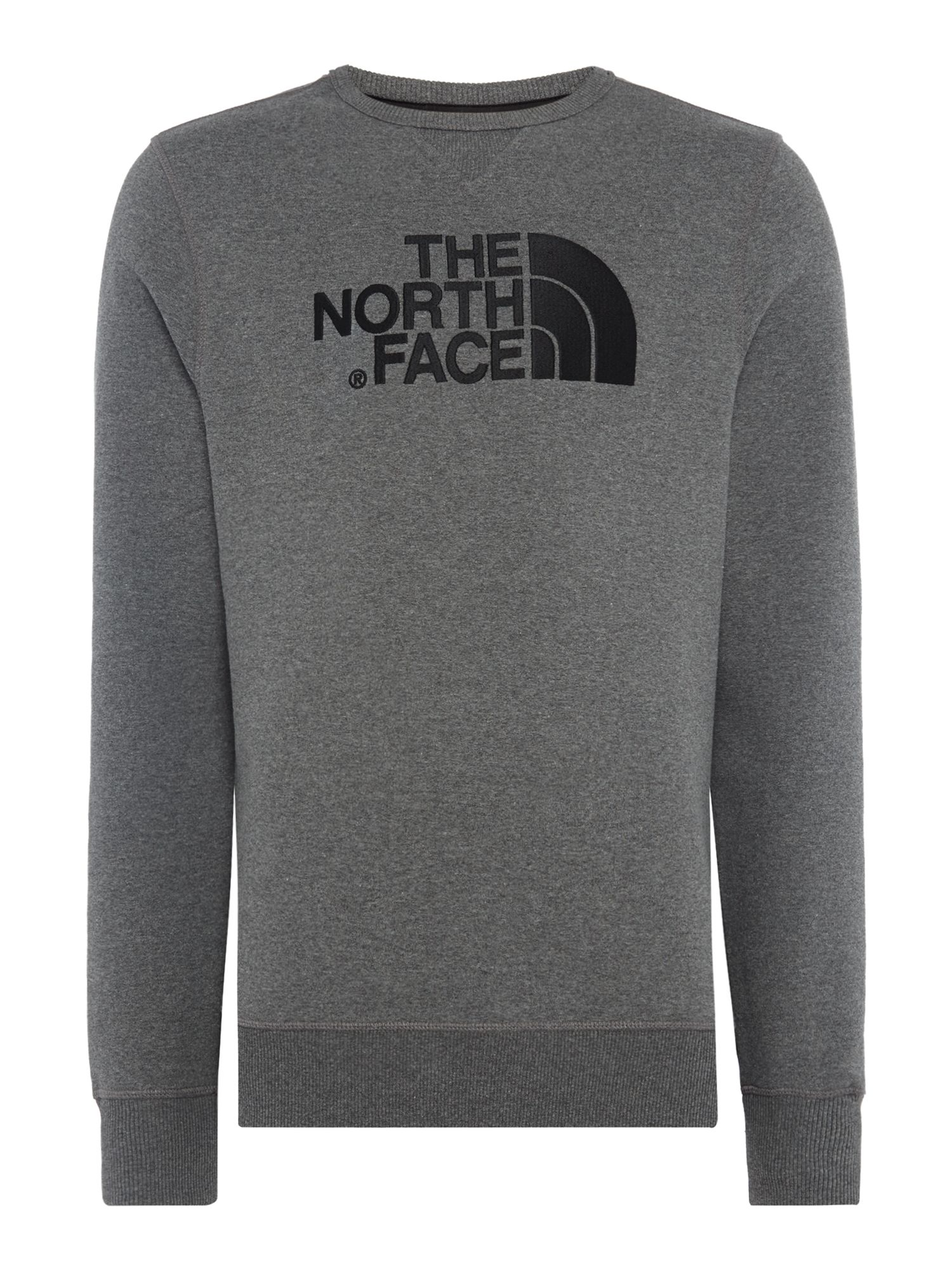 Men's The North Face Logo Crew Neck Sweat, Dark Grey
