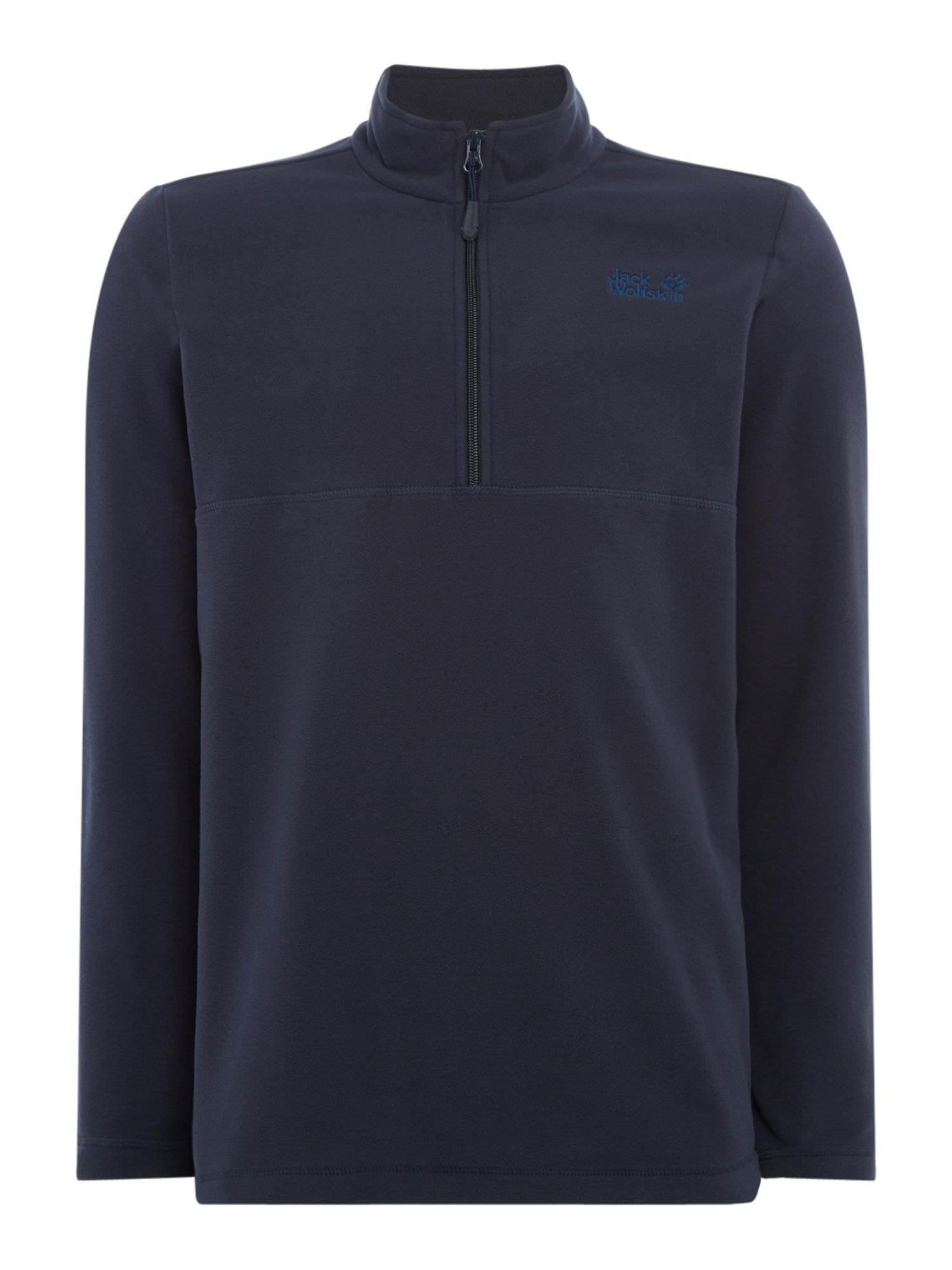 Men's Jack Wolfskin Gecko 1/4 Zip Fleece, Blue