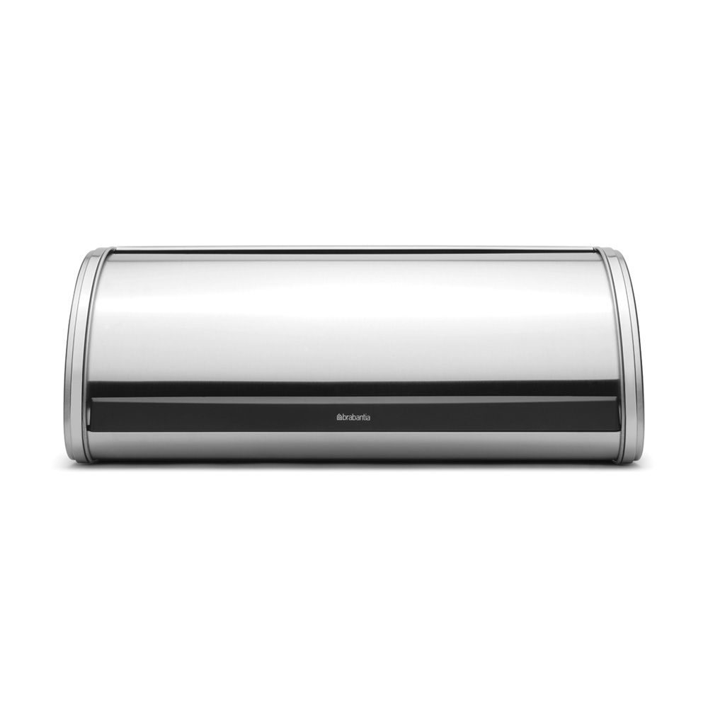 Image of Brabantia Roll Top Matt Steel Bread Bin