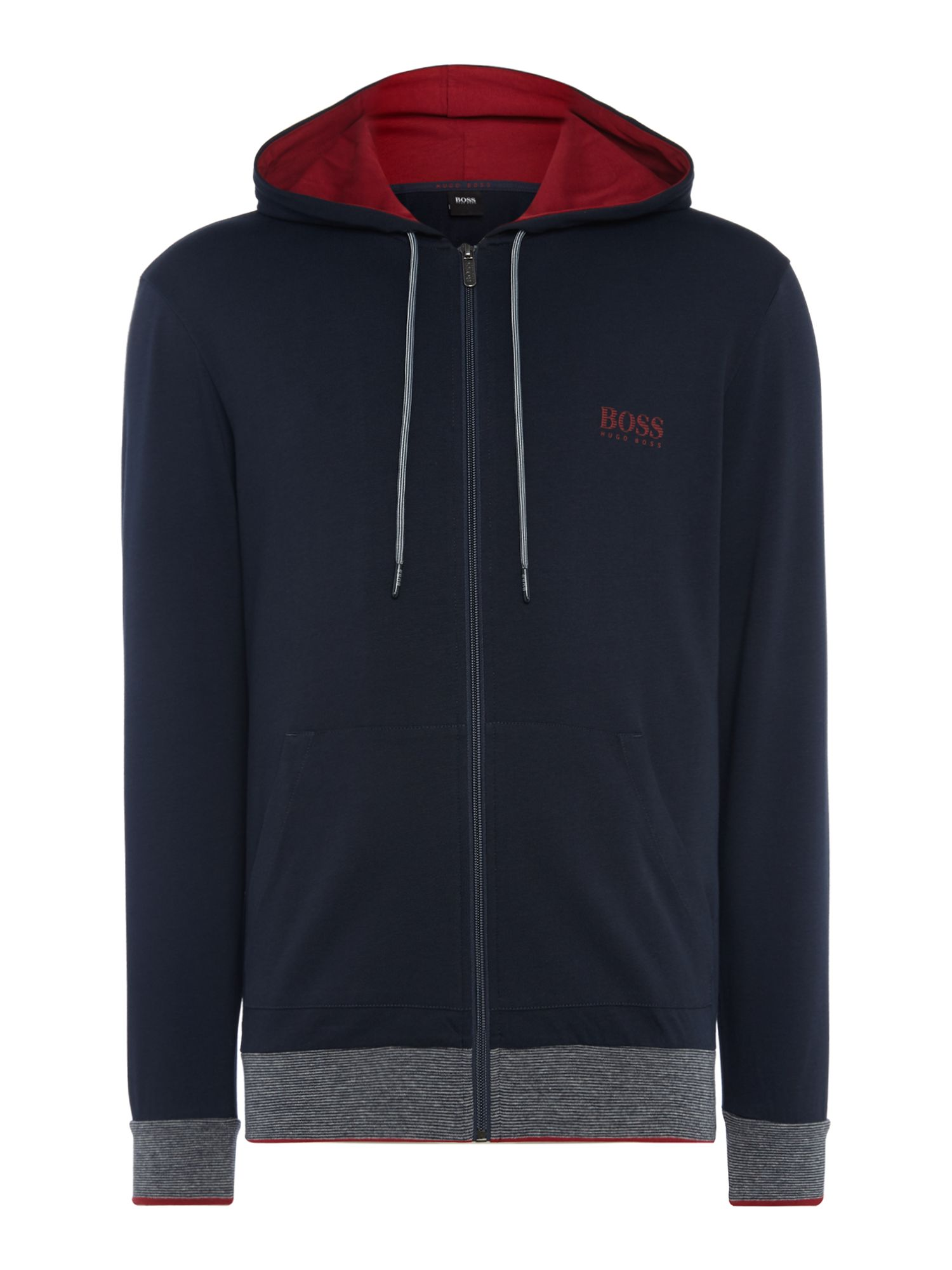 Men's Hugo Boss Authentic Hooded Jacket, Blue