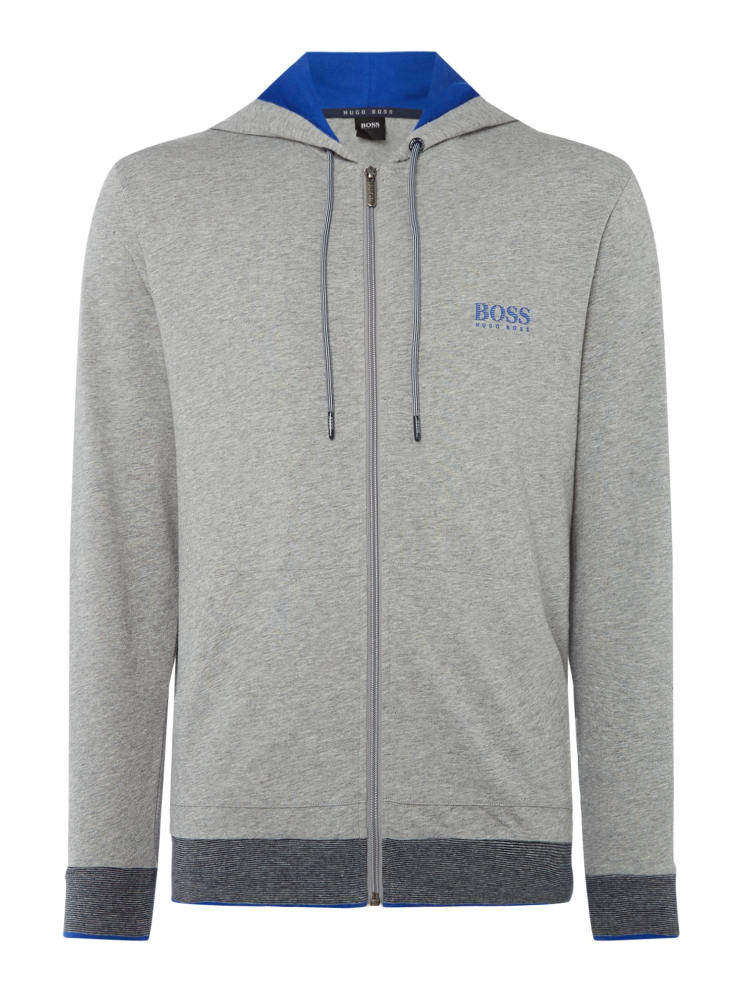 Men's Hugo Boss Authentic Hooded Jacket, Grey