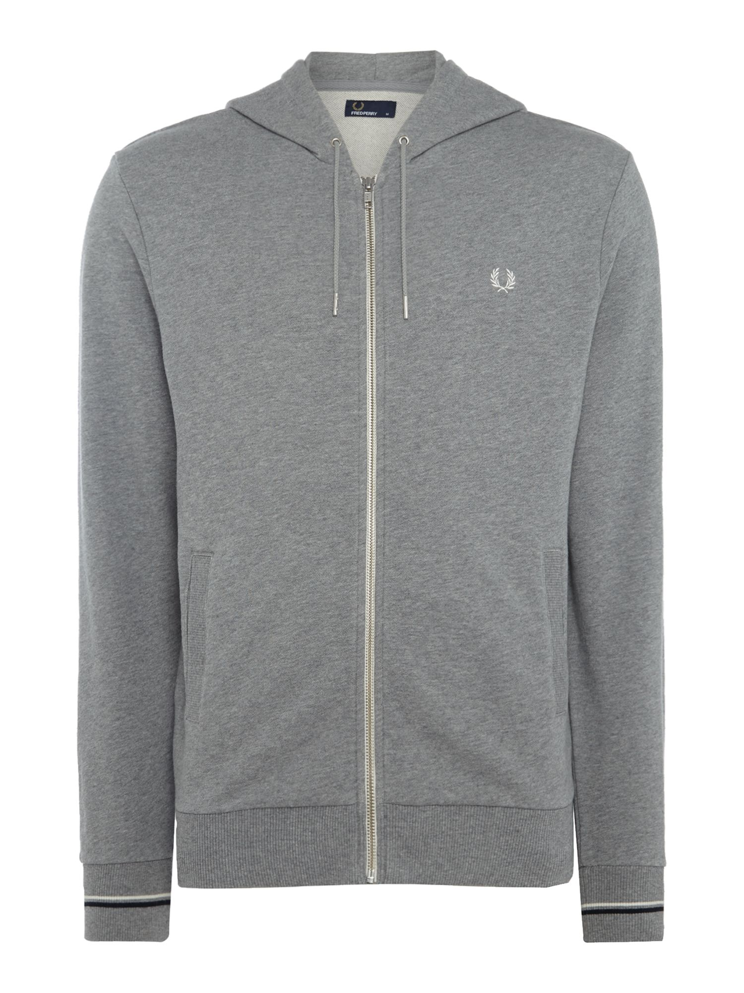 Men's Fred Perry Hooded sweatshirt, Grey