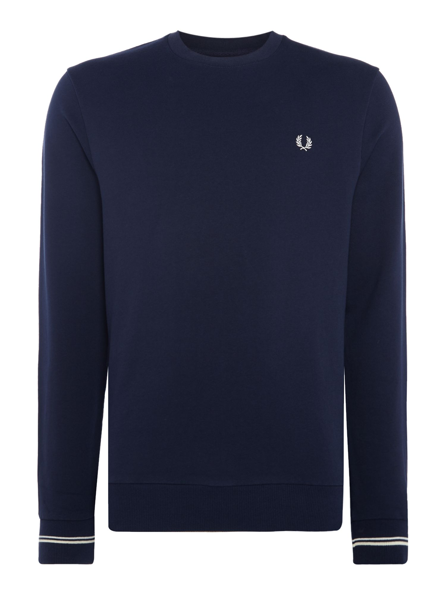 Men's Fred Perry Crew neck sweat, Blue