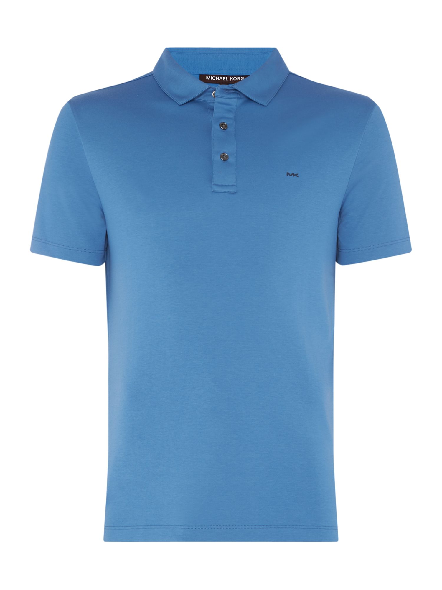 Men's Michael Kors Sleek Slim Fit Polo Shirt, Sea Blue