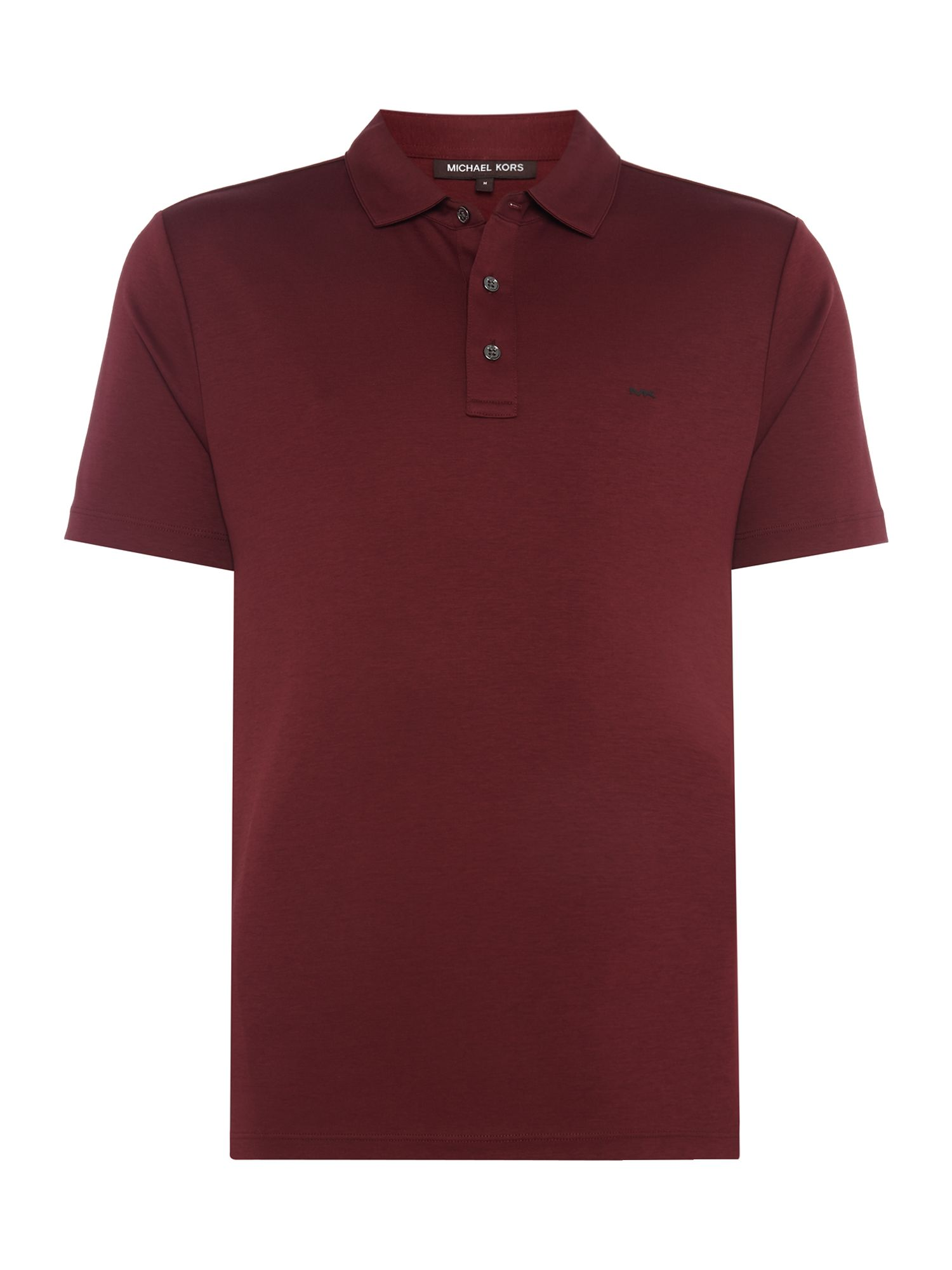Men's Michael Kors Sleek Slim Fit Polo Shirt, Red