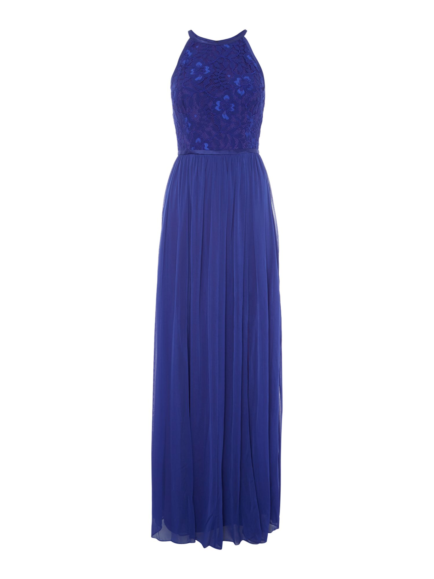 Adrianna Papell Lace top gown, Blue