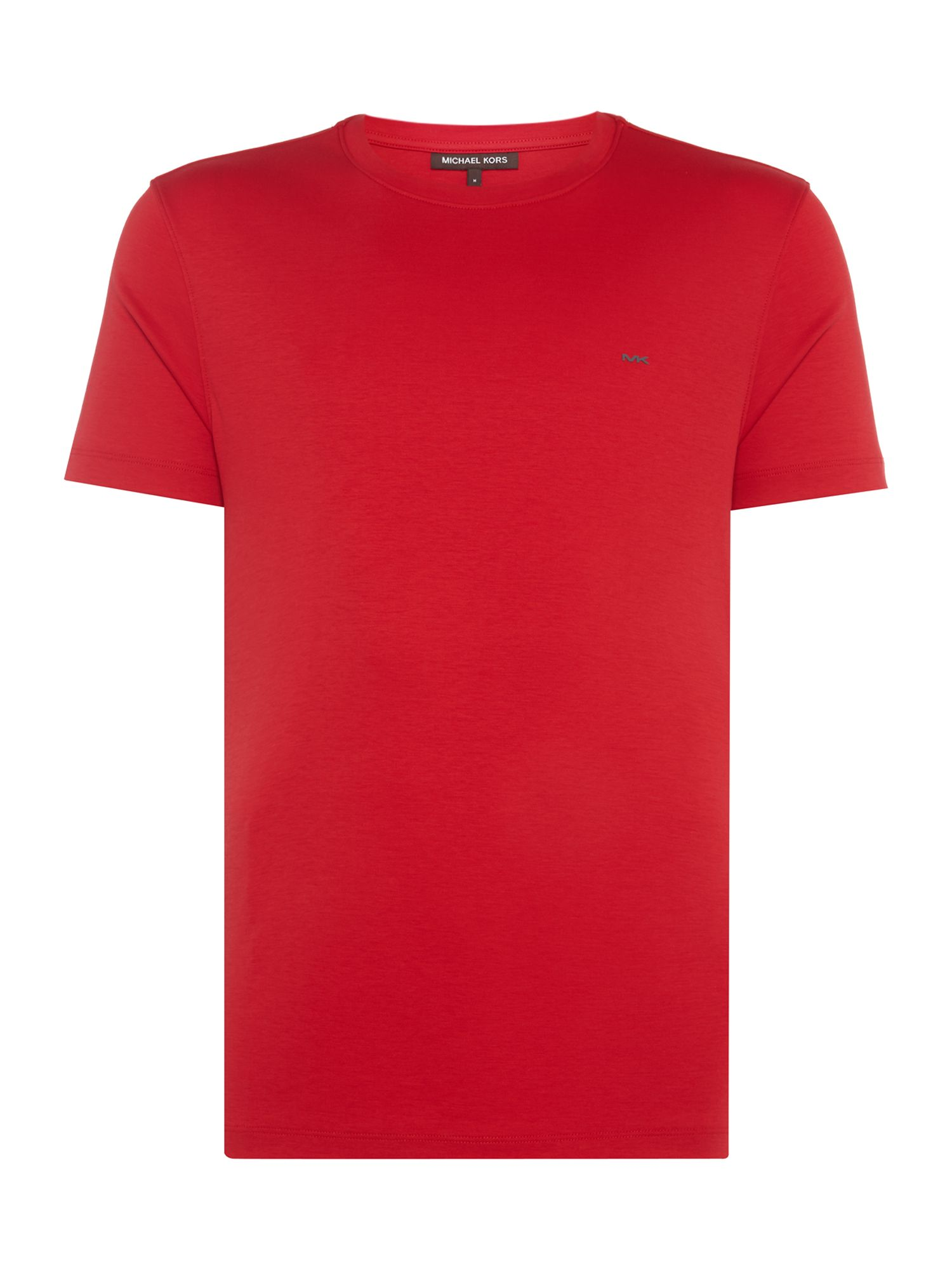 Men's Michael Kors Sleek Crew Neck T-Shirt, Red