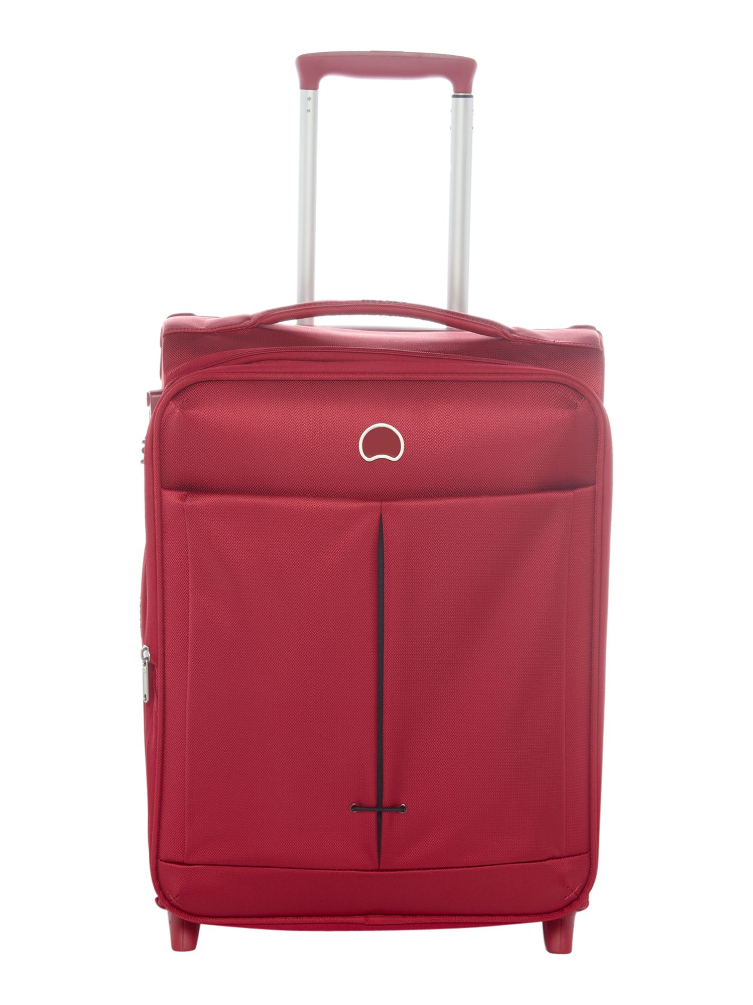 Delsey Air Adventure 55cm 4 Wheel Cabin Red Suitcase, Red