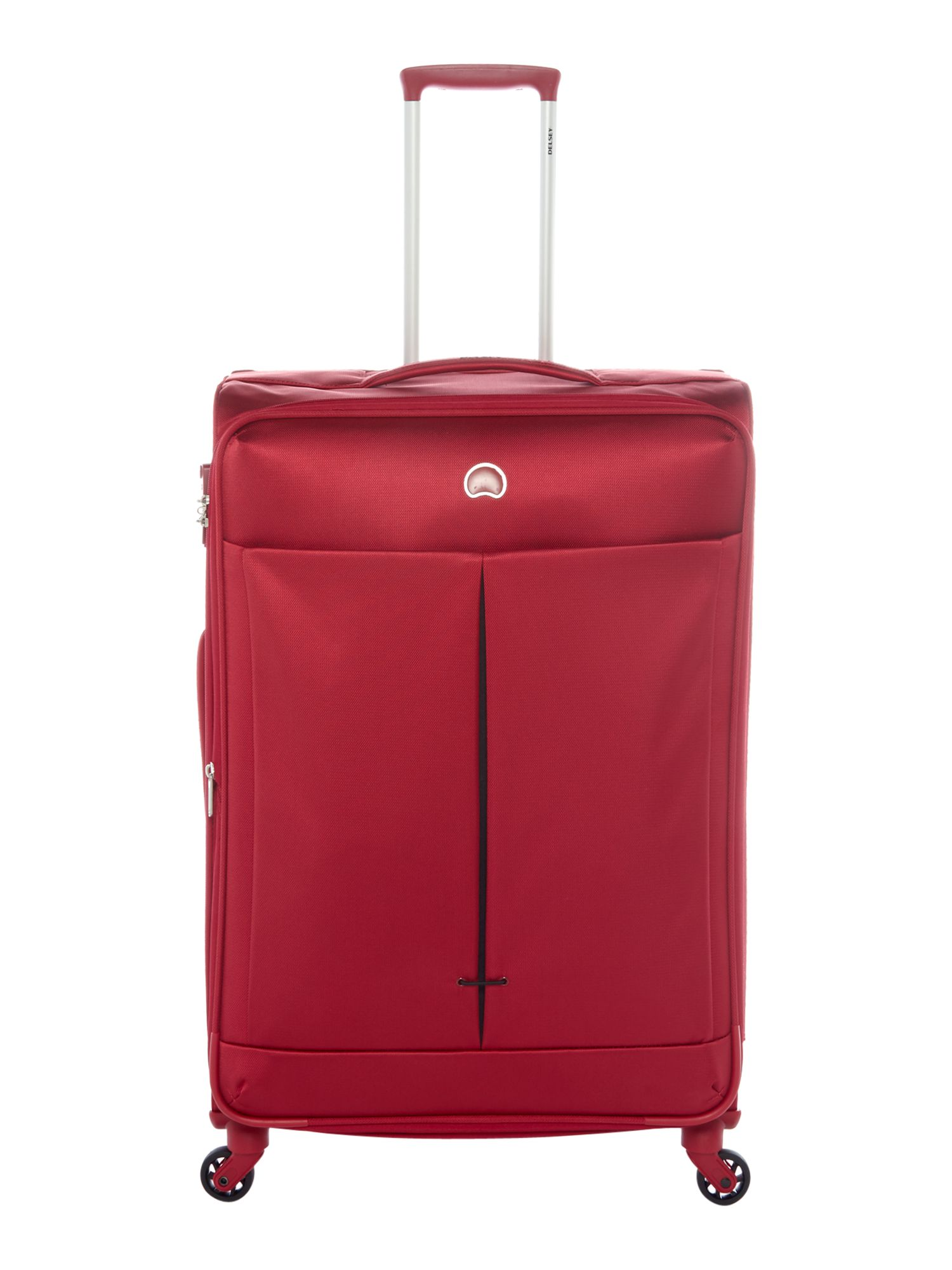 Delsey Air Adventure Large 78cm Red Suitcase, Red