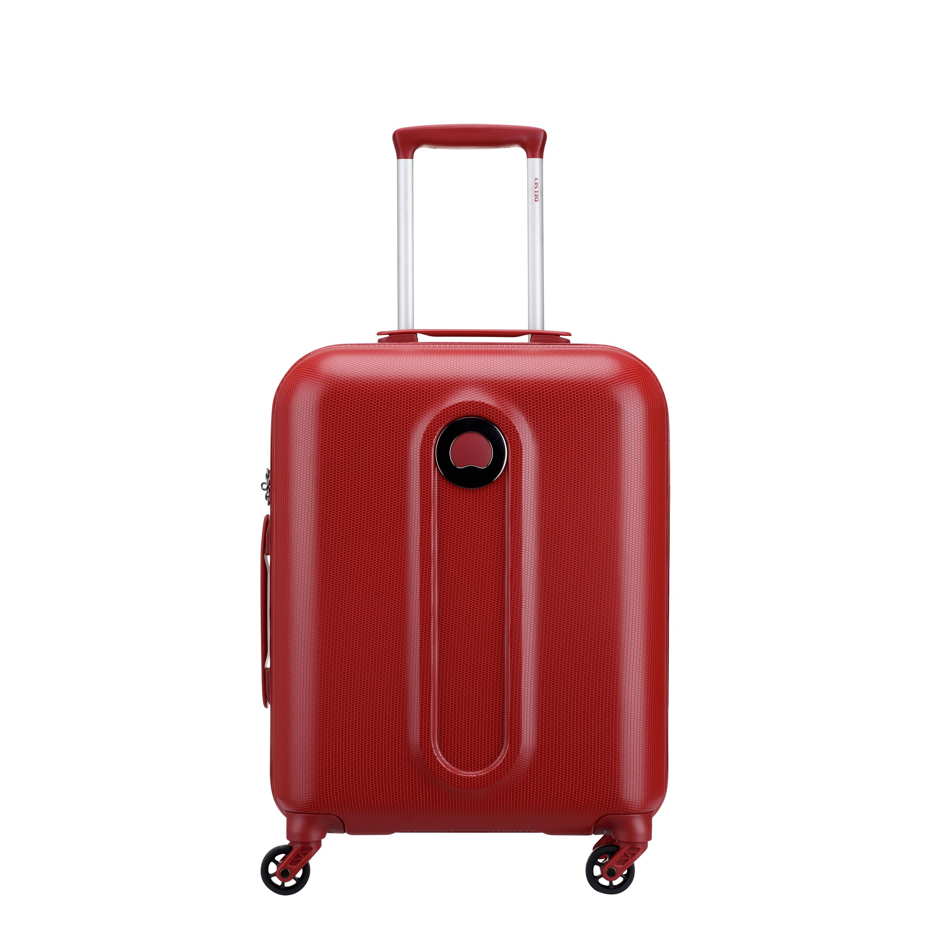 Delsey Helium Classic 55cm Red Cabin Suitcase, Red