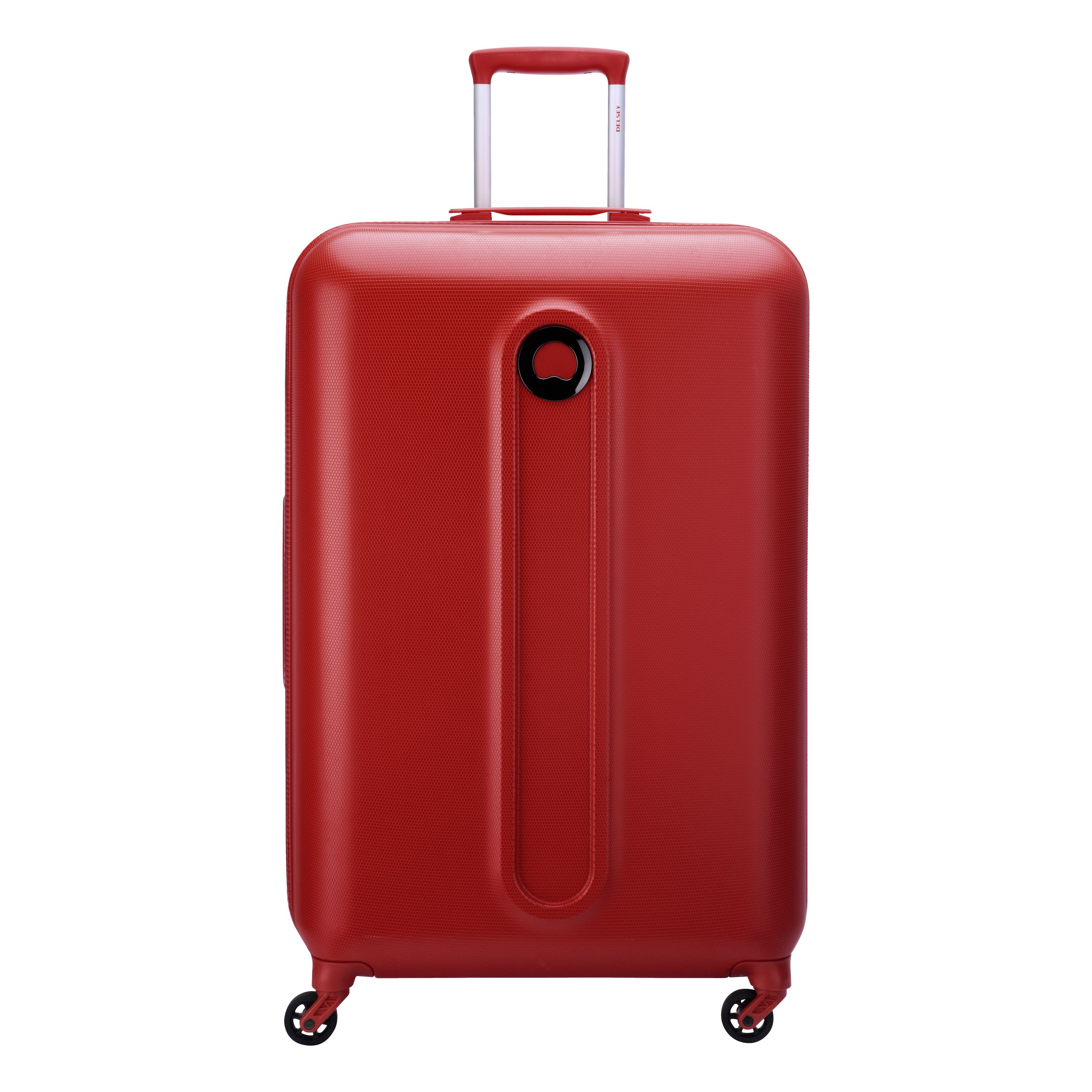Delsey Helium Classic 78cm Large Red Suitcase, Red