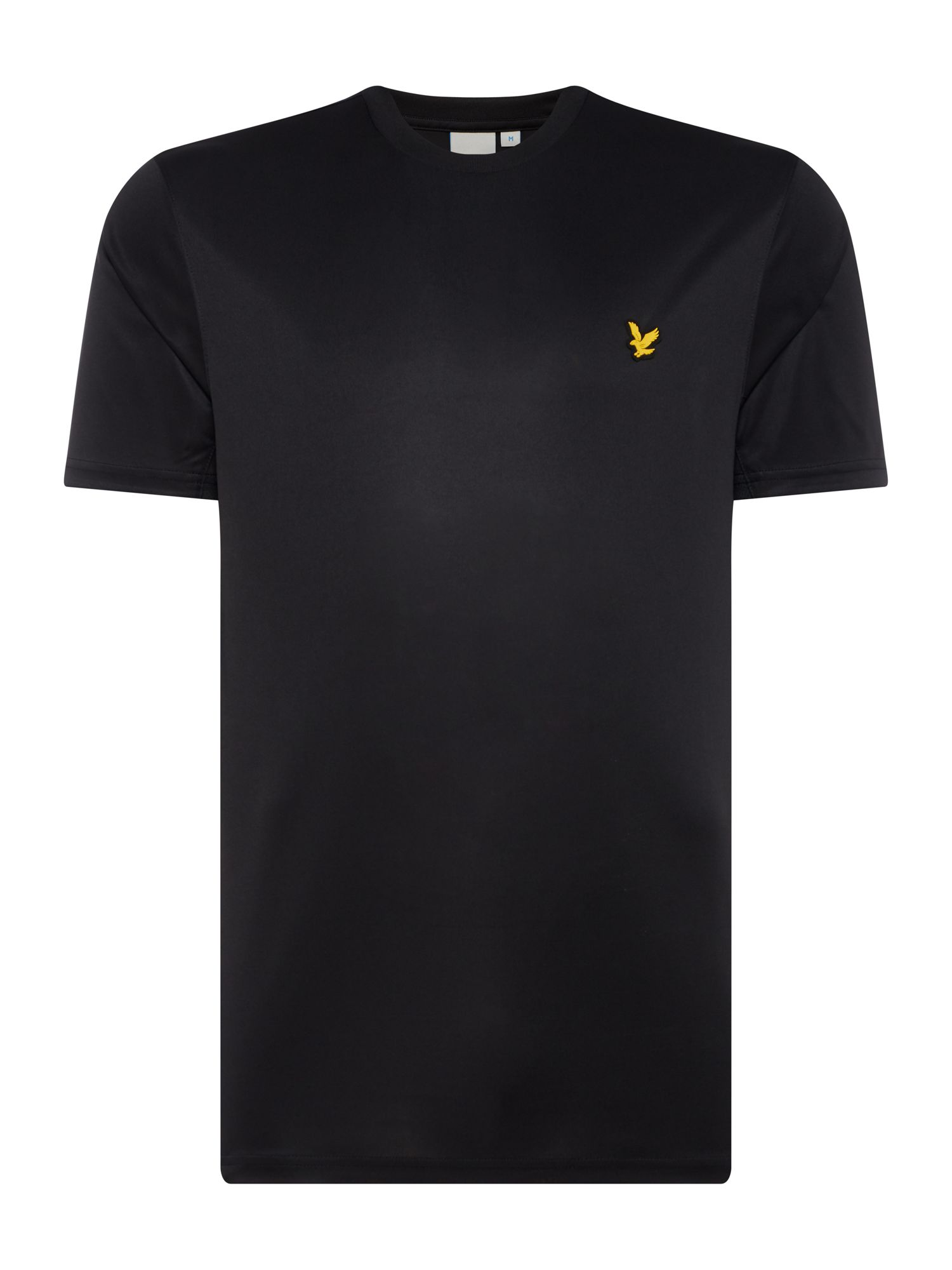 Men's Lyle and Scott Sports Crew-Neck Short-Sleeve T-Shirt, Black