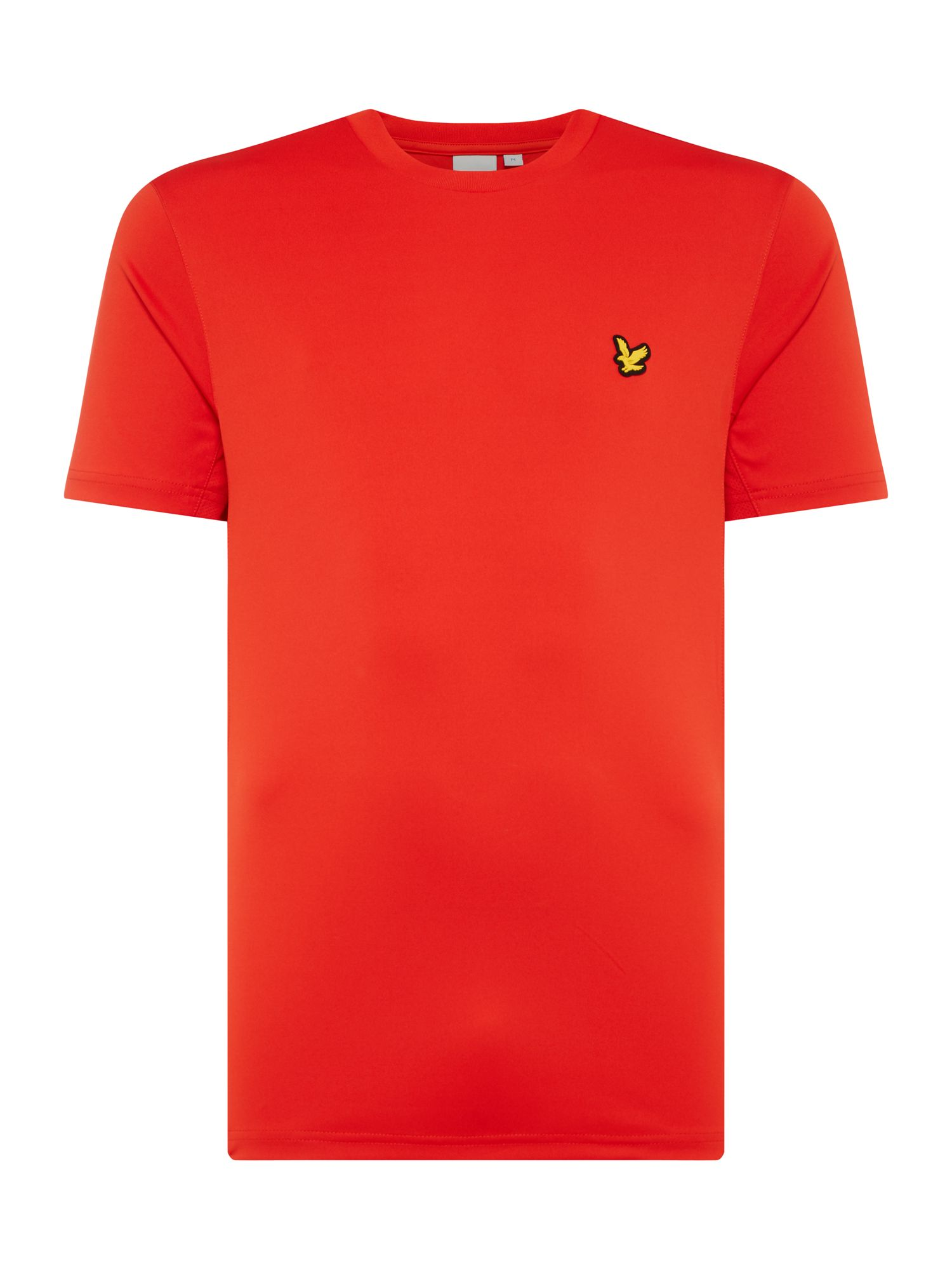 Men's Lyle and Scott Sports Crew-Neck Short-Sleeve T-Shirt, True Red