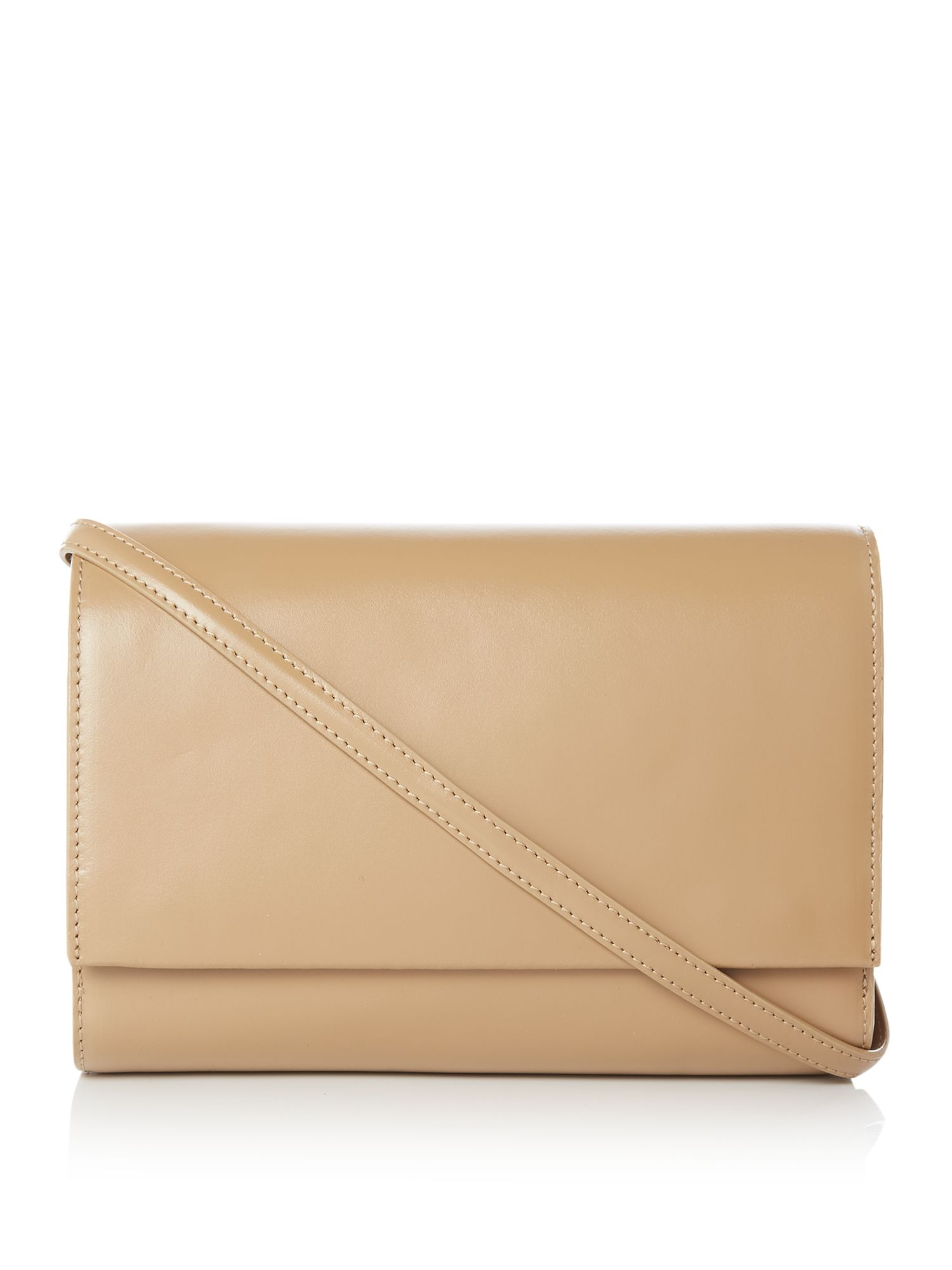 Linea Adele Leather Shoulder Bag, Camel