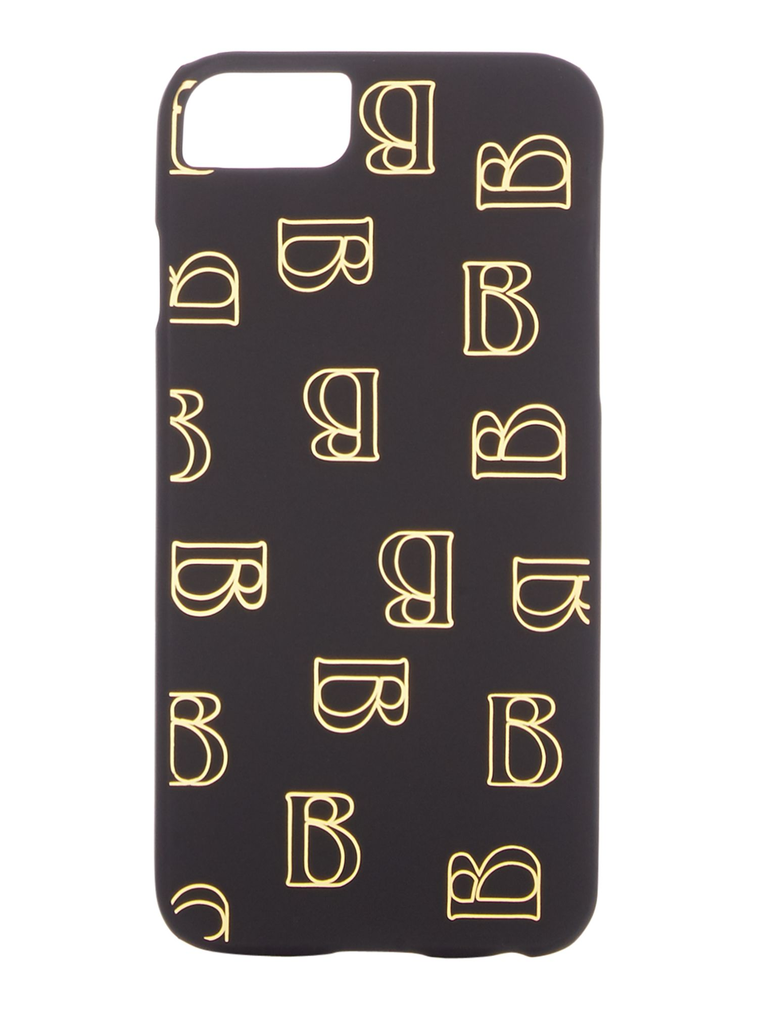 Biba B logo iPhone 6 and 7 case, Black